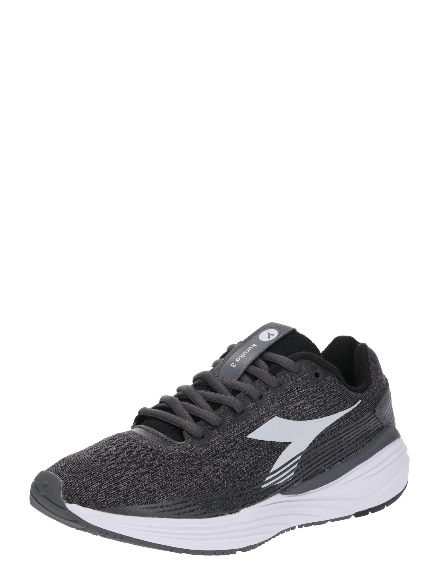 Běžecká obuv Kuruka šedá černá bílá Diadora