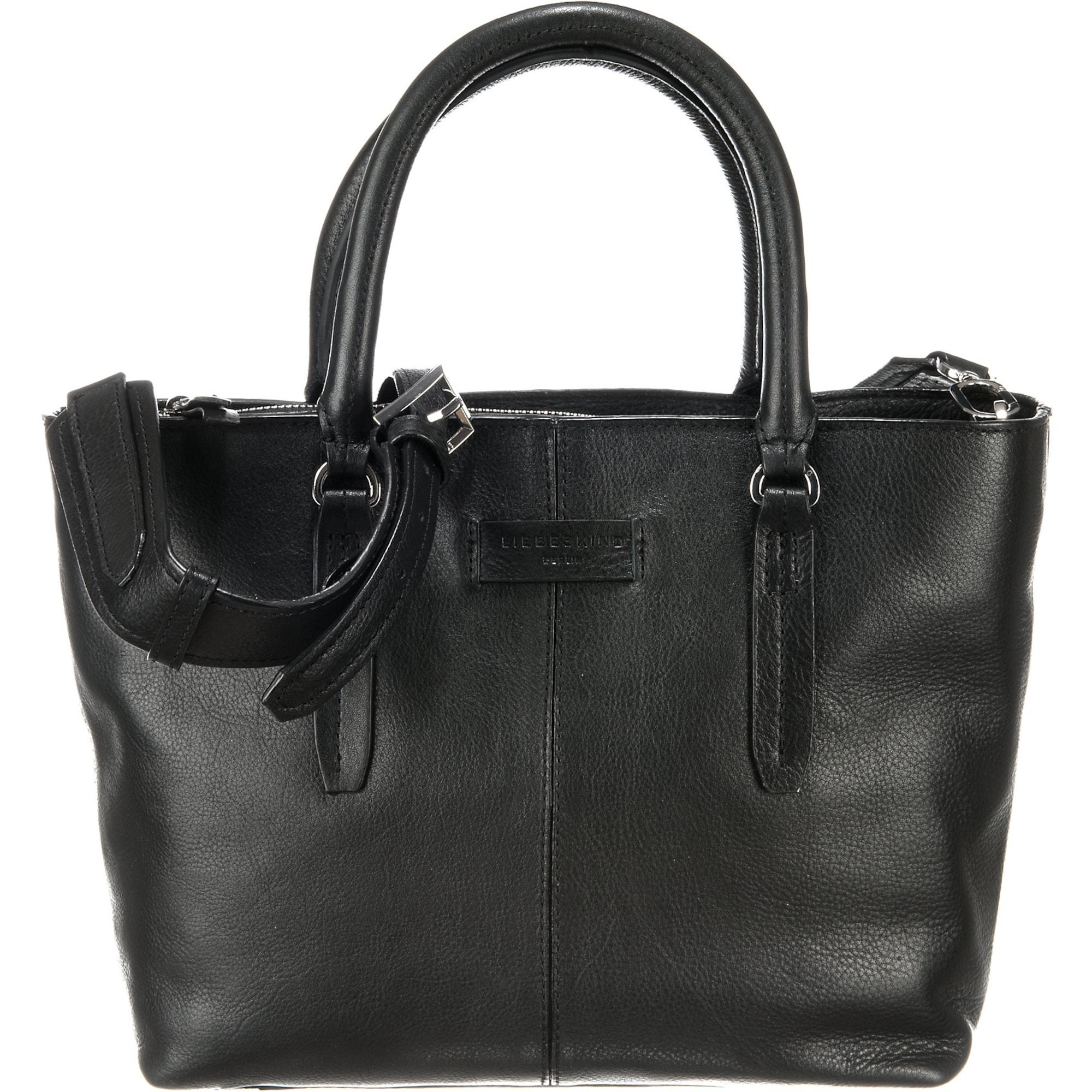 Nákupní taška Satchel černá Liebeskind Berlin