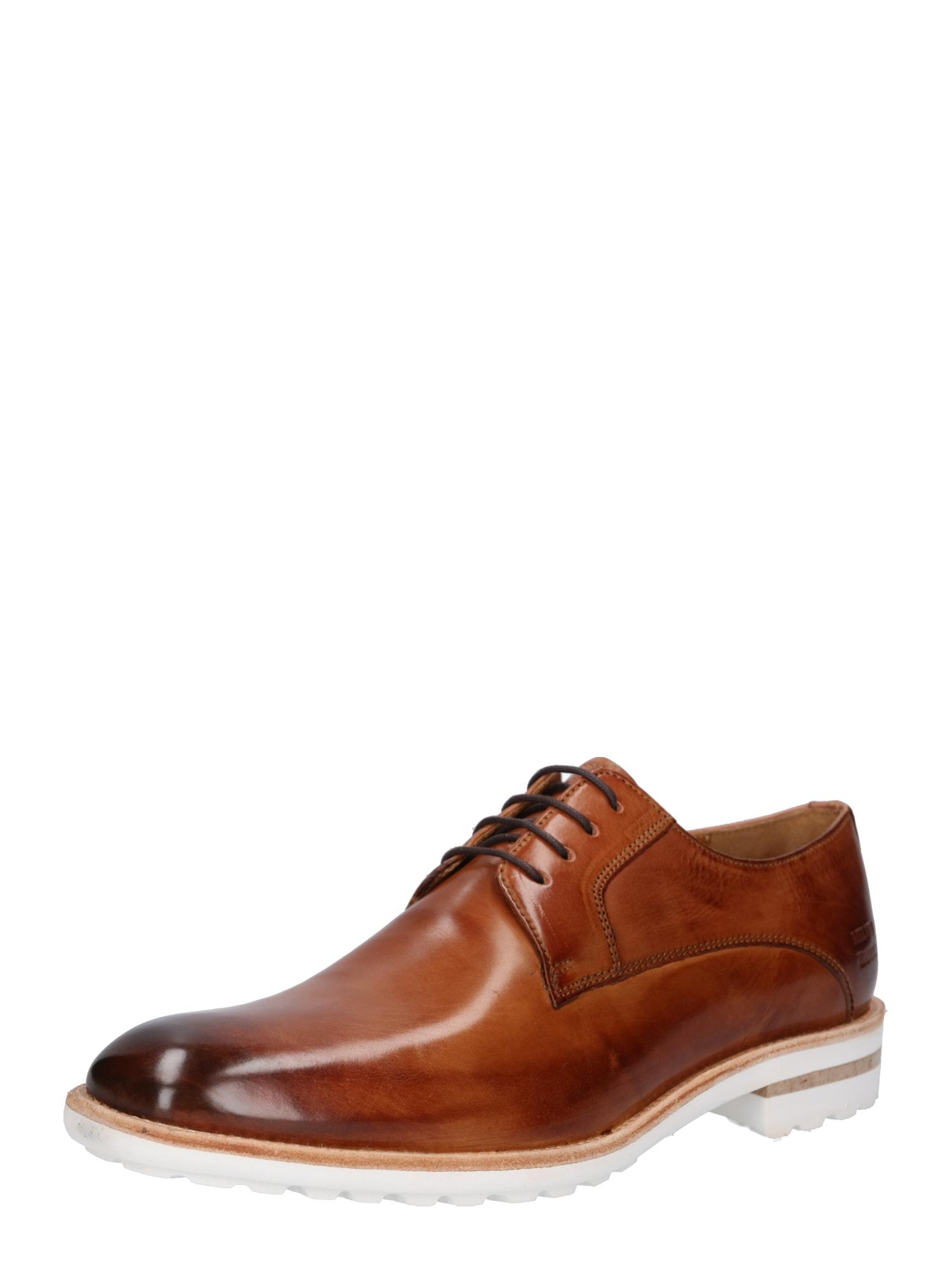 Šněrovací boty Eddy hnědá MELVIN & HAMILTON