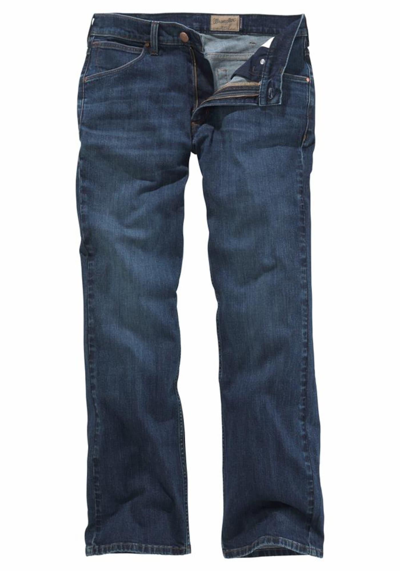 WRANGLER Heren Jeans Jacksville blue denim