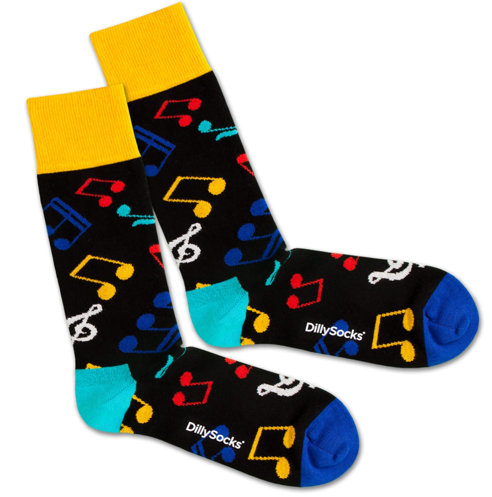 Ponožky Melody mix barev DillySocks