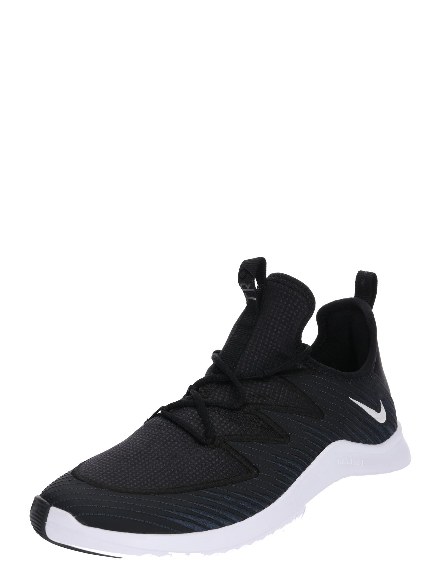 Sportovní boty Nike Free TR 9 černá bílá NIKE