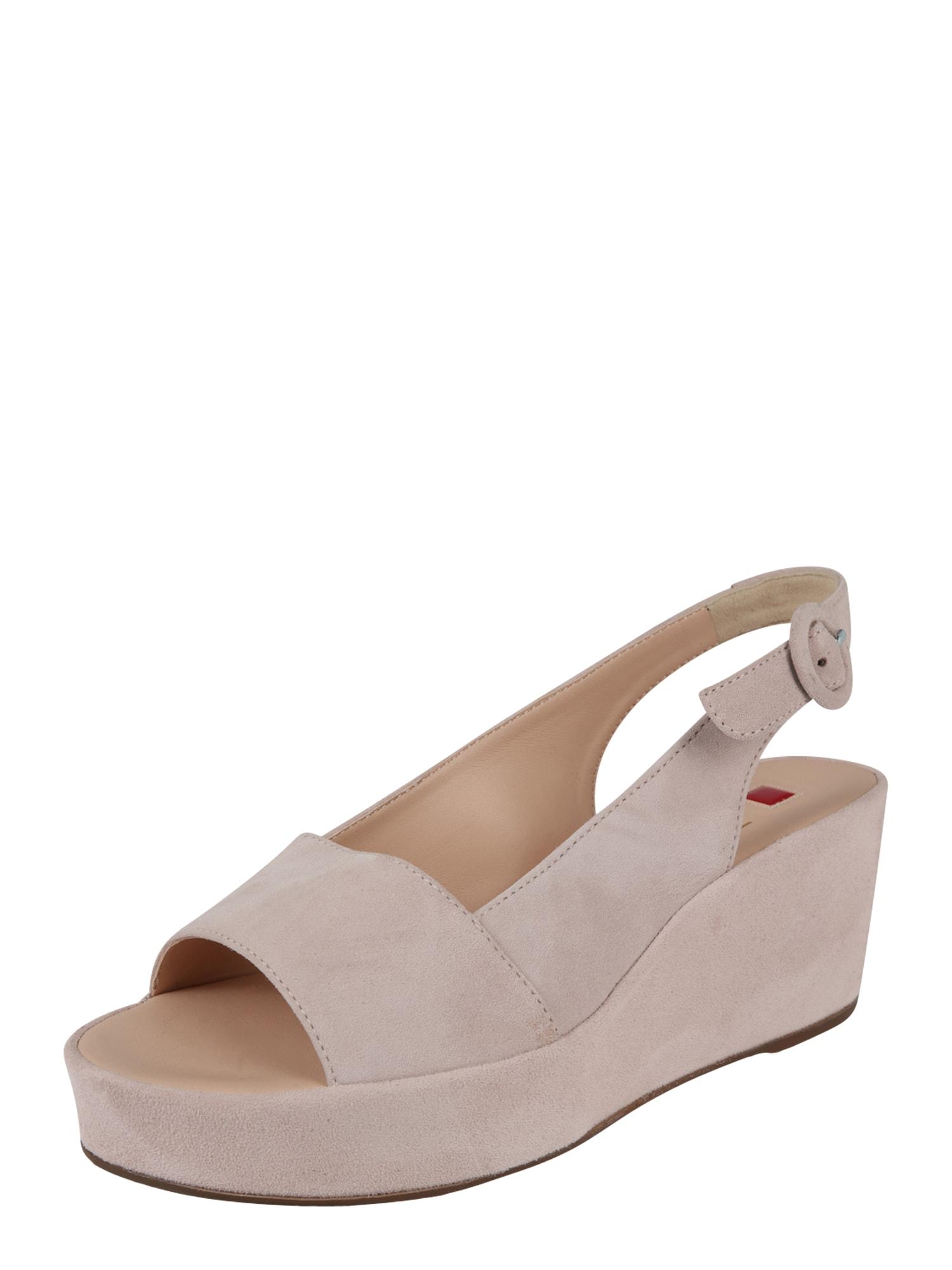Sandály růžová Högl