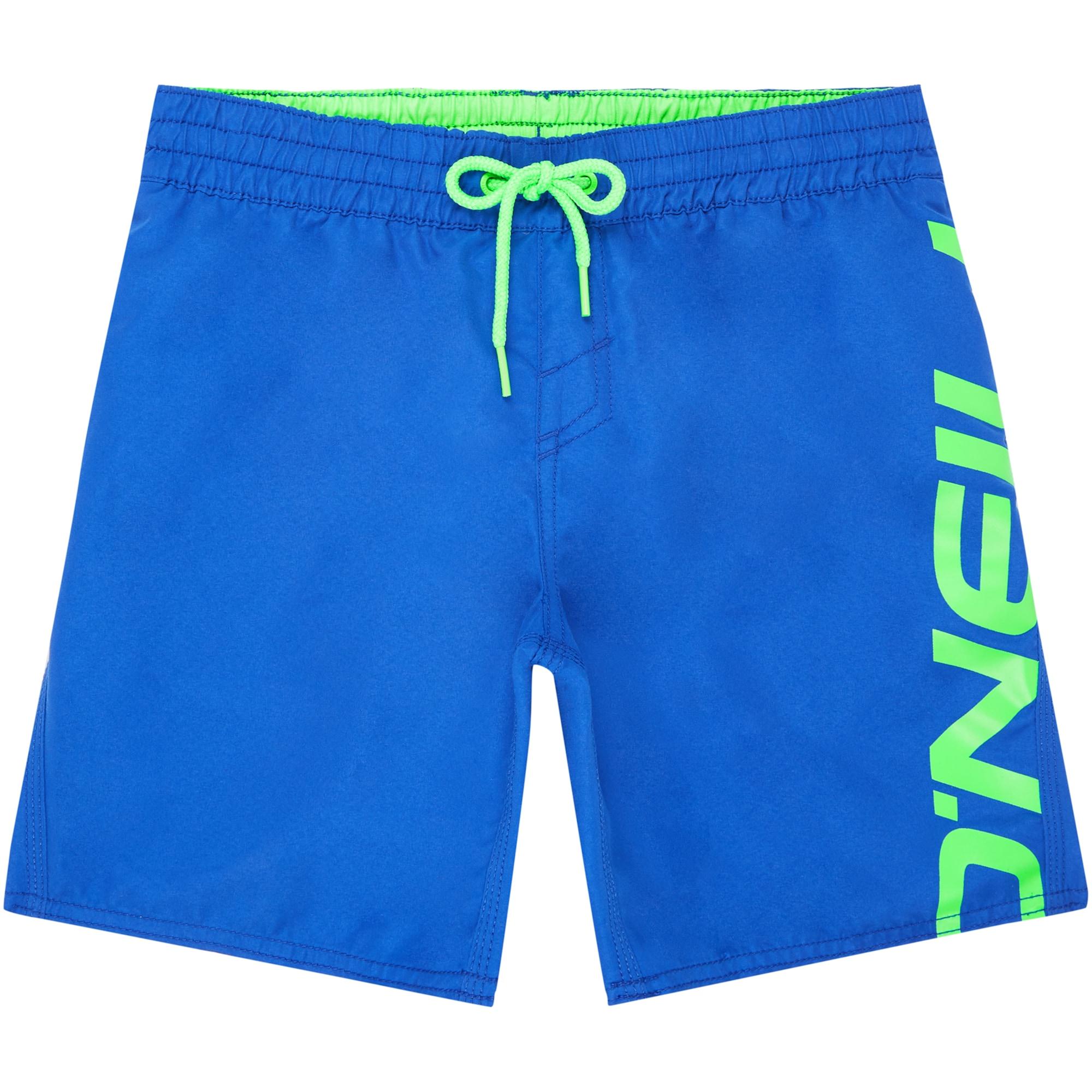 ONEILL Sportovní plavky PB CALI modrá svítivě zelená O'NEILL
