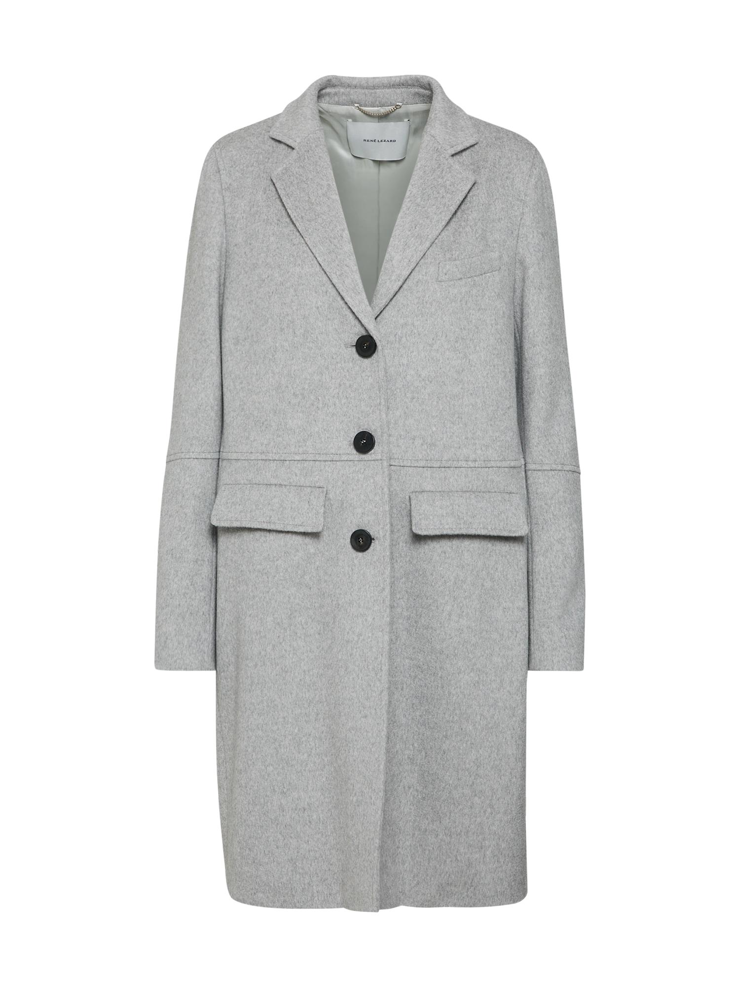 Přechodný kabát M020A šedá RENÉ LEZARD