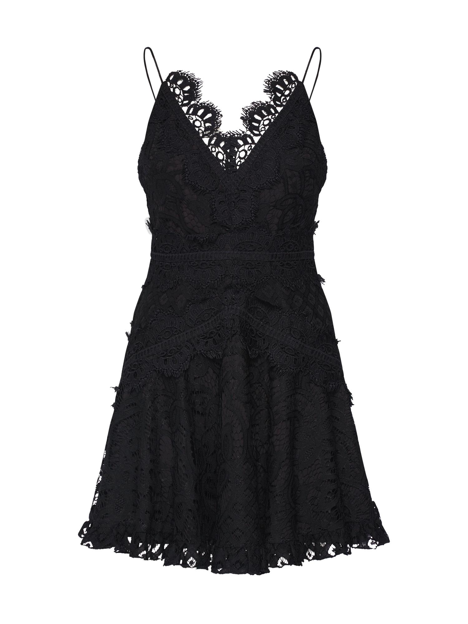 Love Triangle Koktejlové šaty 'Passion Pop Dress'  černá