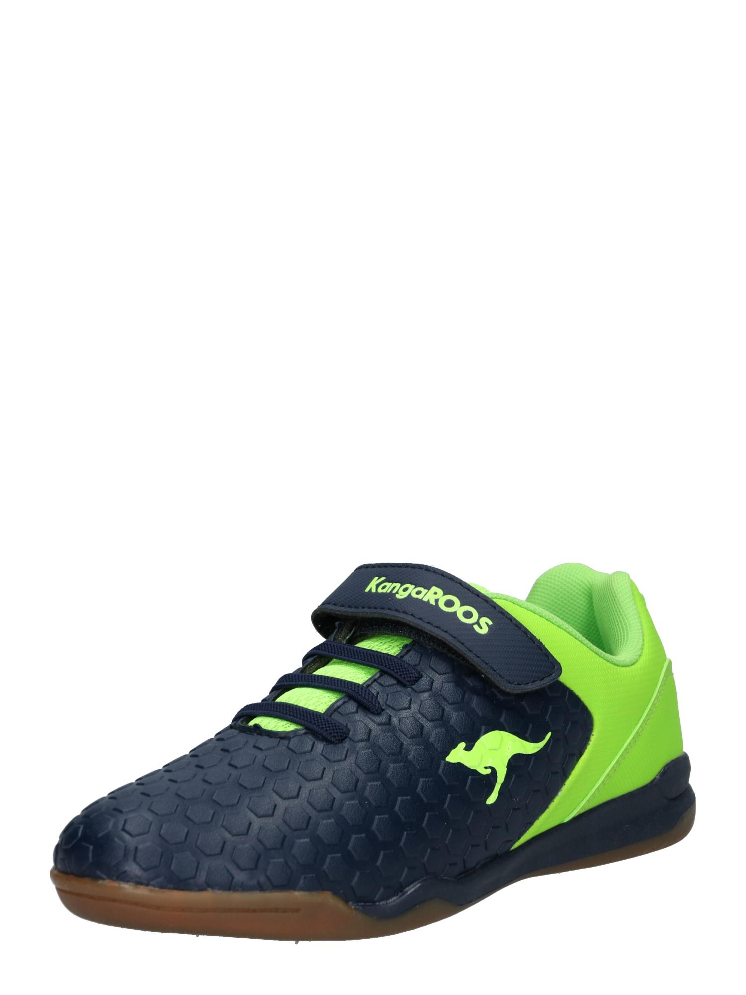 Sportovní boty Speed Court námořnická modř limetková KangaROOS