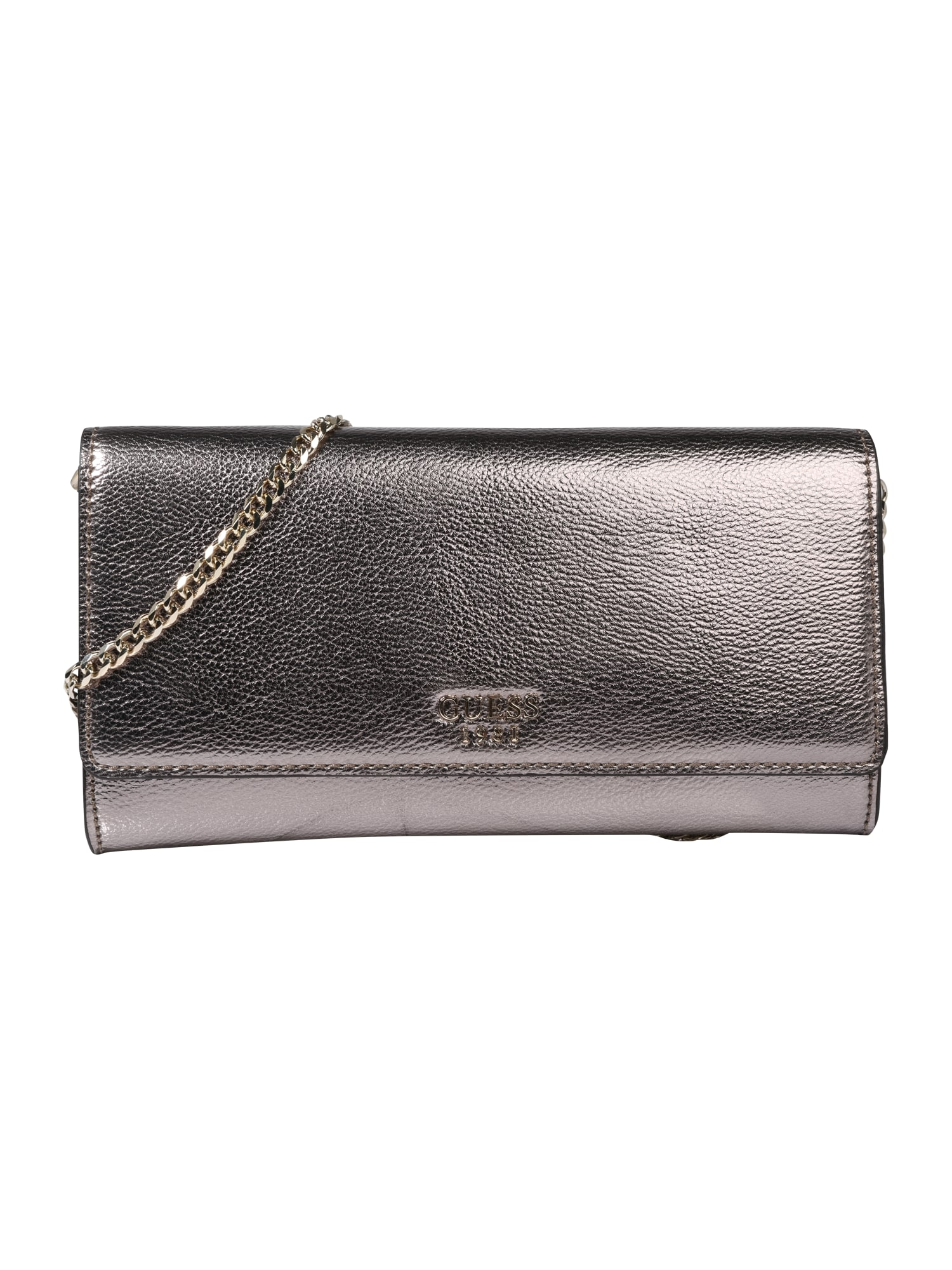 GUESS, Dames Clutch 'STARRY NIGHT', goud / zilver