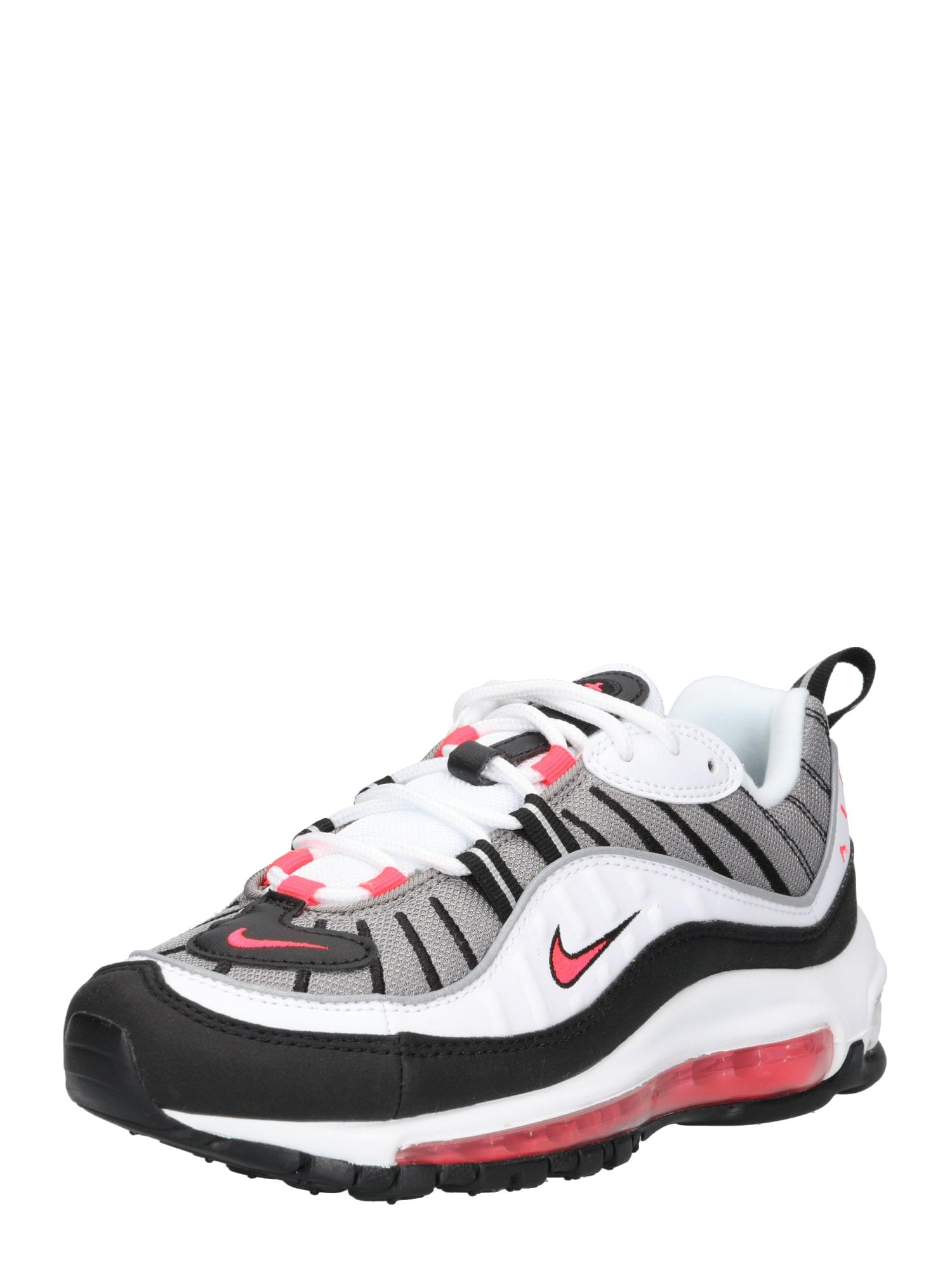 Tenisky Womens Nike Air Max 98 Shoe červená černá bílá Nike Sportswear