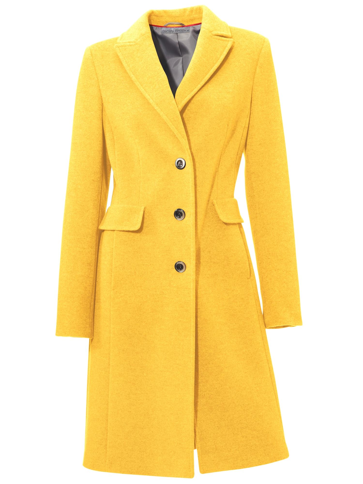 Přechodný kabát žlutá Heine