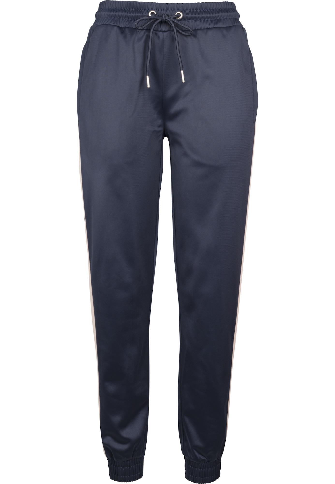 Kalhoty Cuff Track námořnická modř pudrová Urban Classics