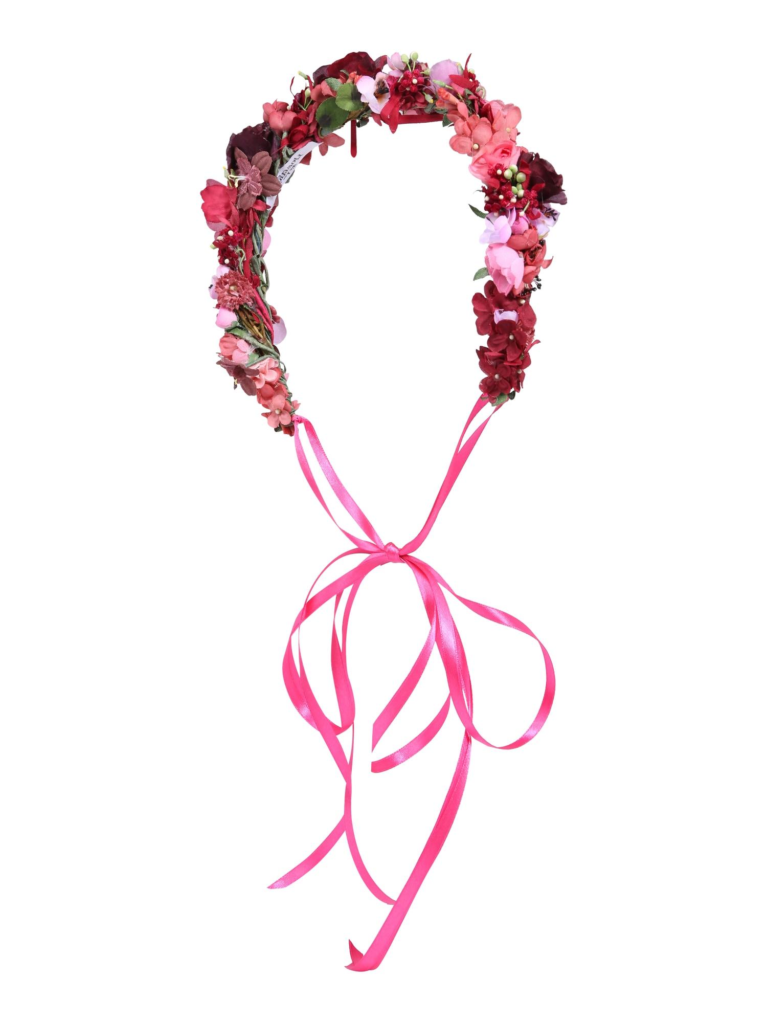 Šperky do vlasů Pink Berry Style korálová pink bordó We Are Flowergirls