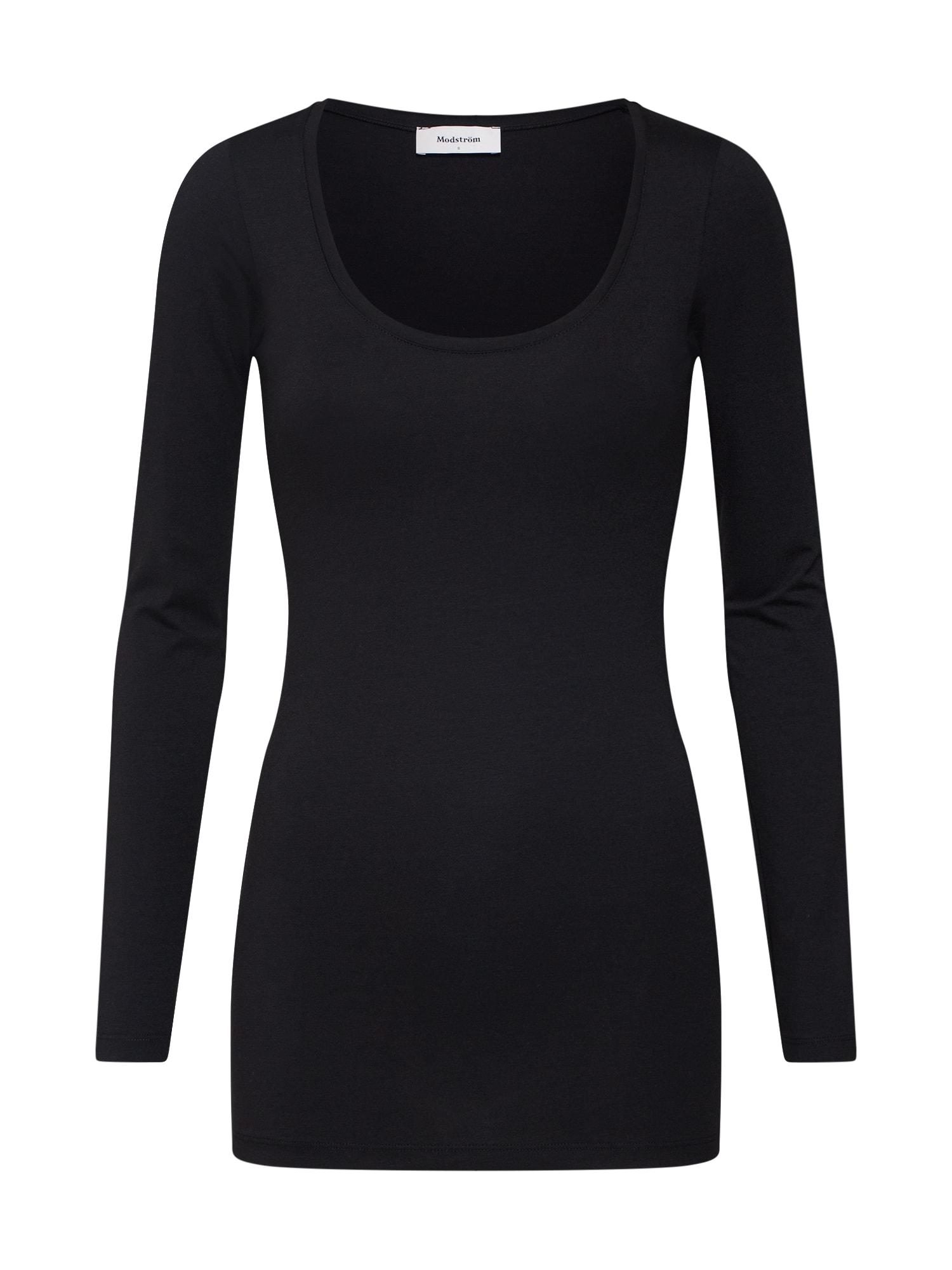 Tričko Turbo černá Modström