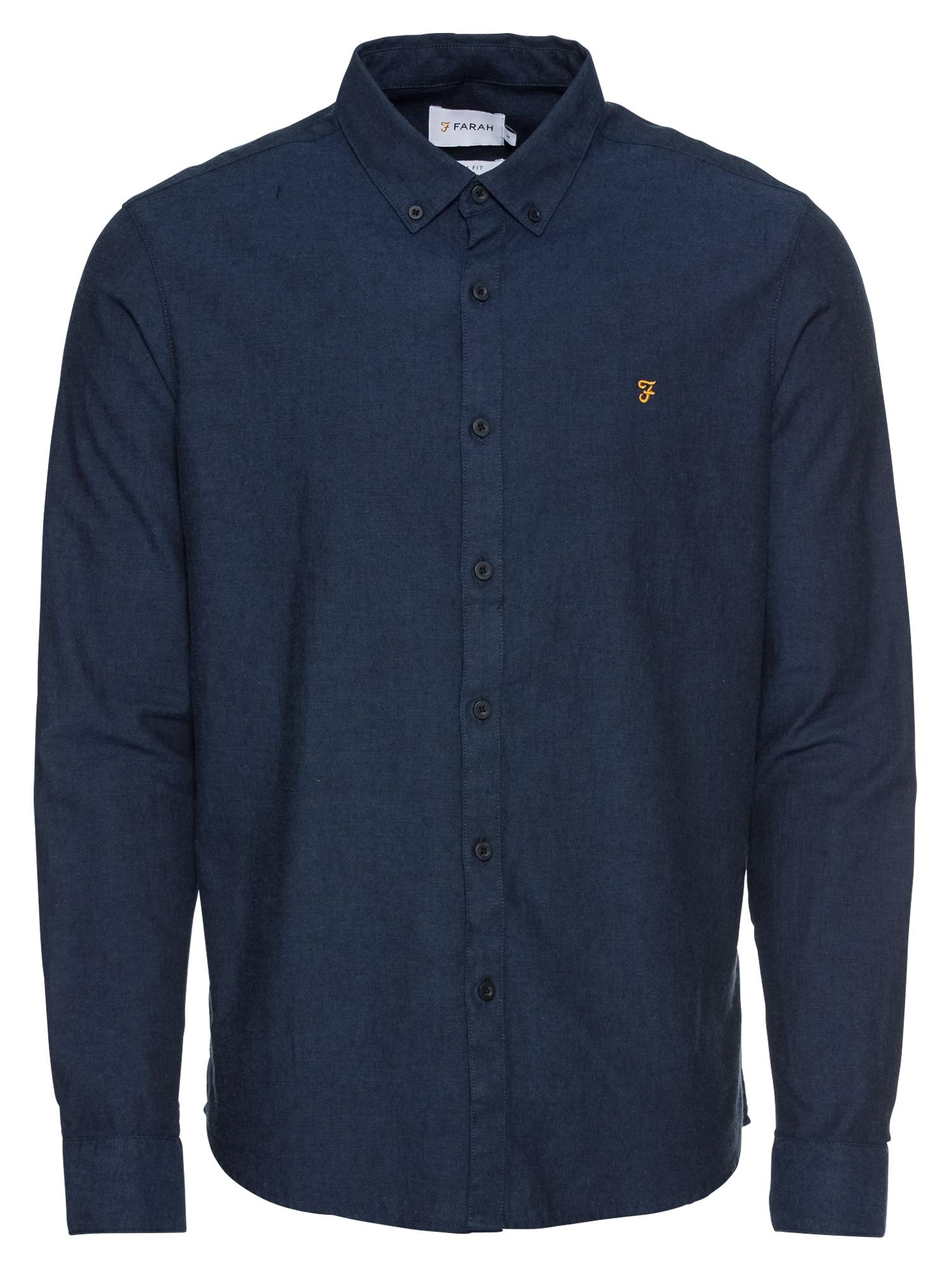 Košile STEEN LS 100% COTTON 140 GSM modrá FARAH