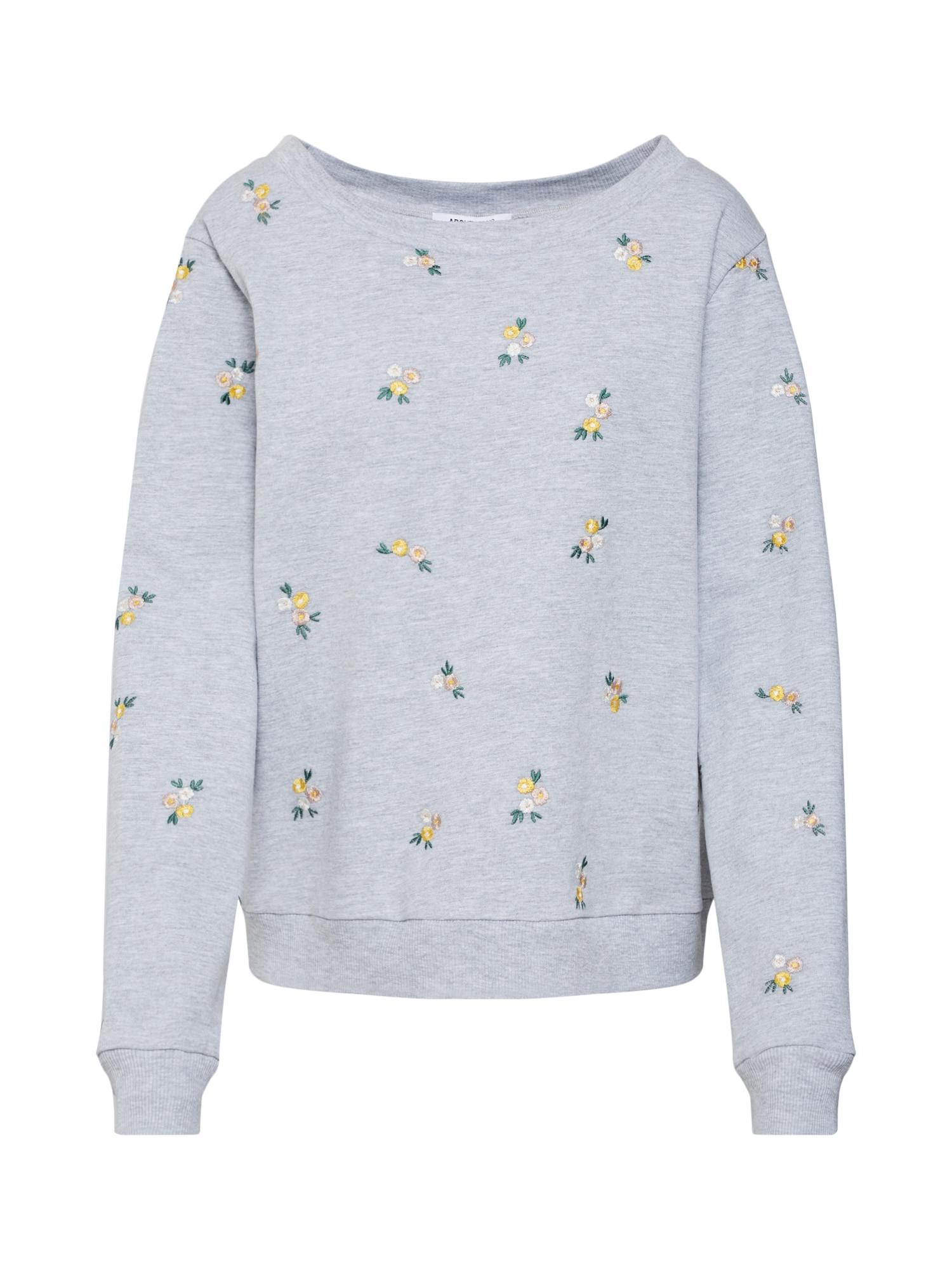 ABOUT YOU, Dames Sweatshirt 'Luna', grijs