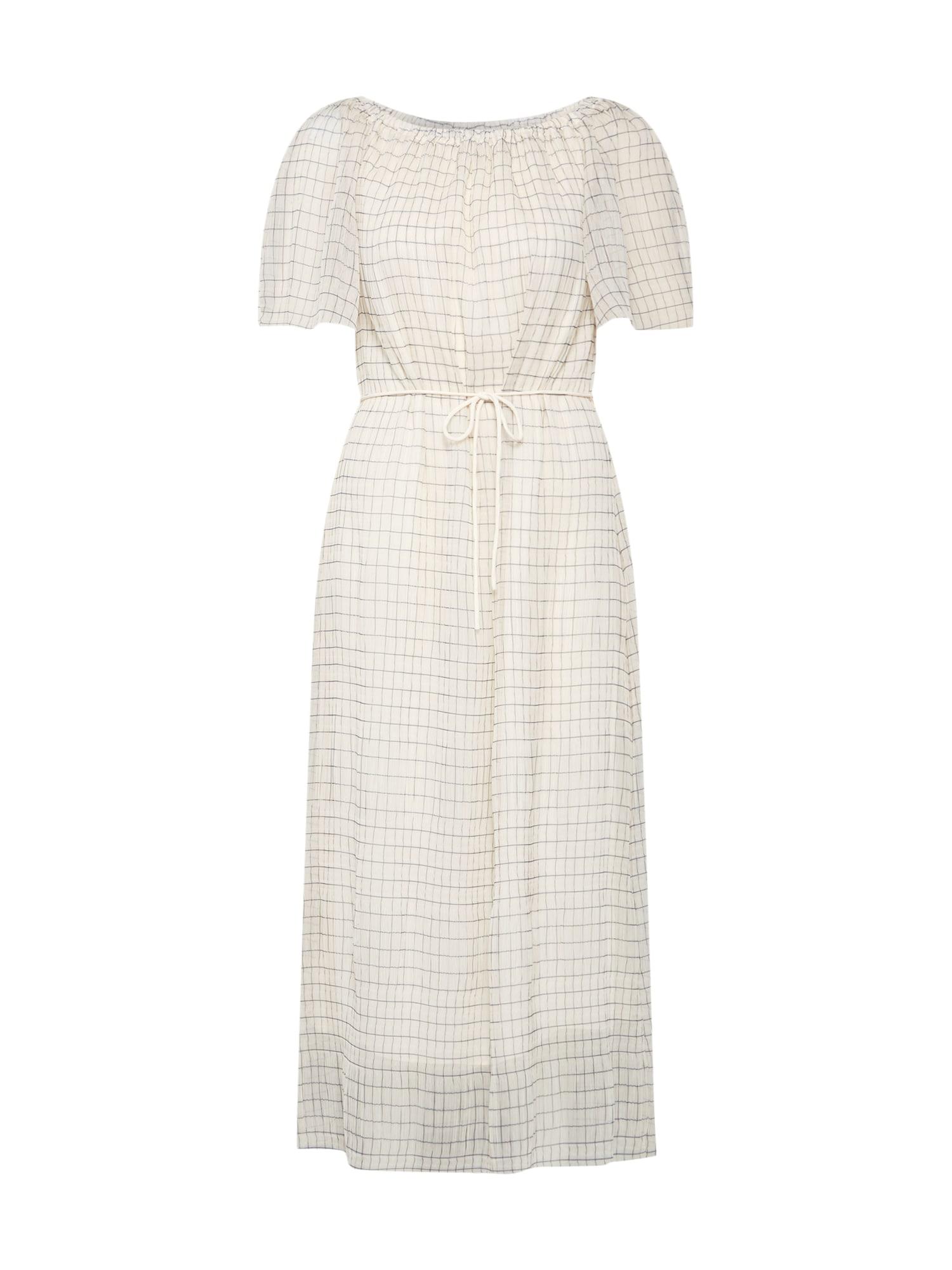 Šaty OHIO CHK LONG PRAIRIE DRESS LS béžová Calvin Klein