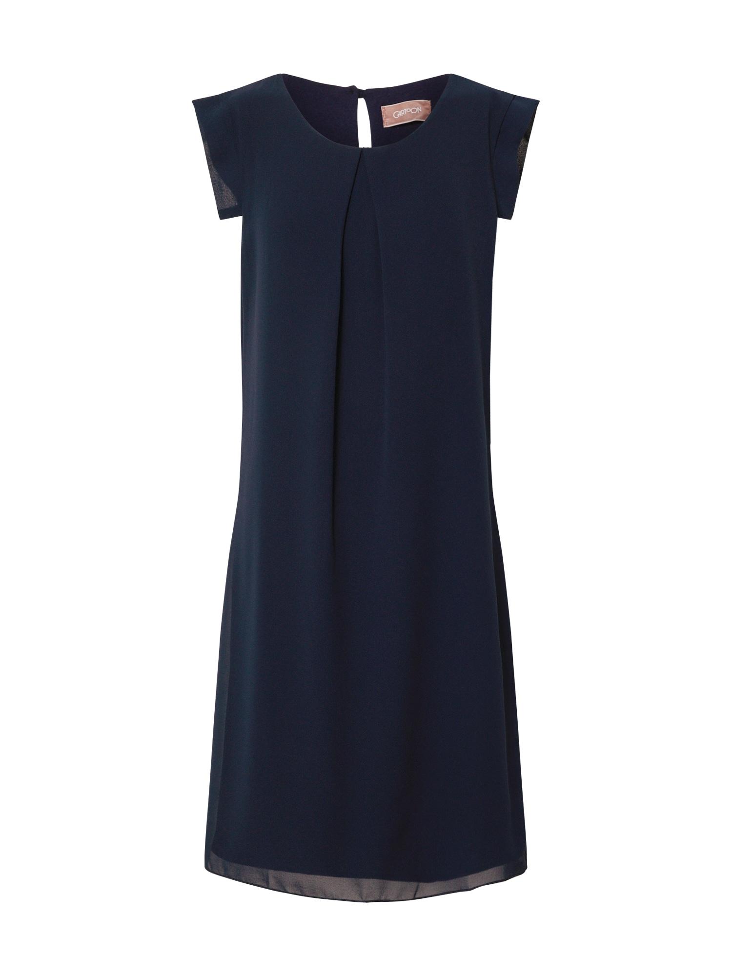 Cartoon Kokteilové šaty  námornícka modrá / tmavomodrá