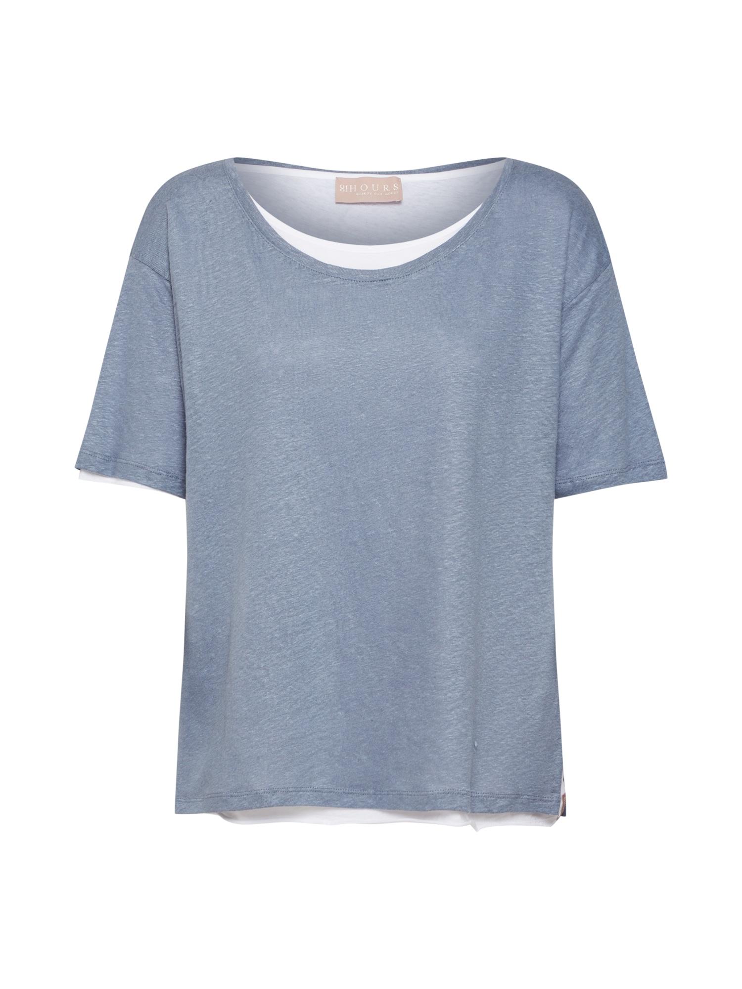Tričko Pauletta modrý melír 81HOURS