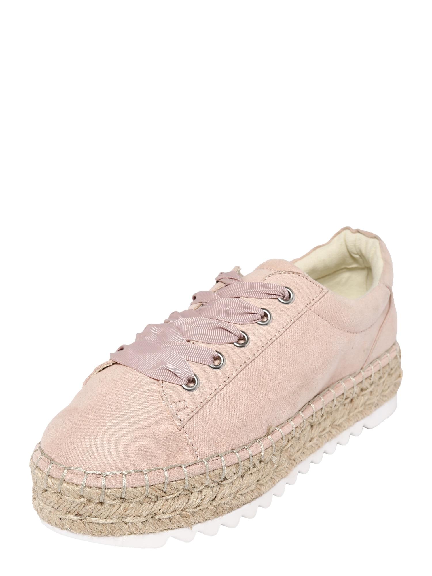 Šněrovací boty růžová BULLBOXER