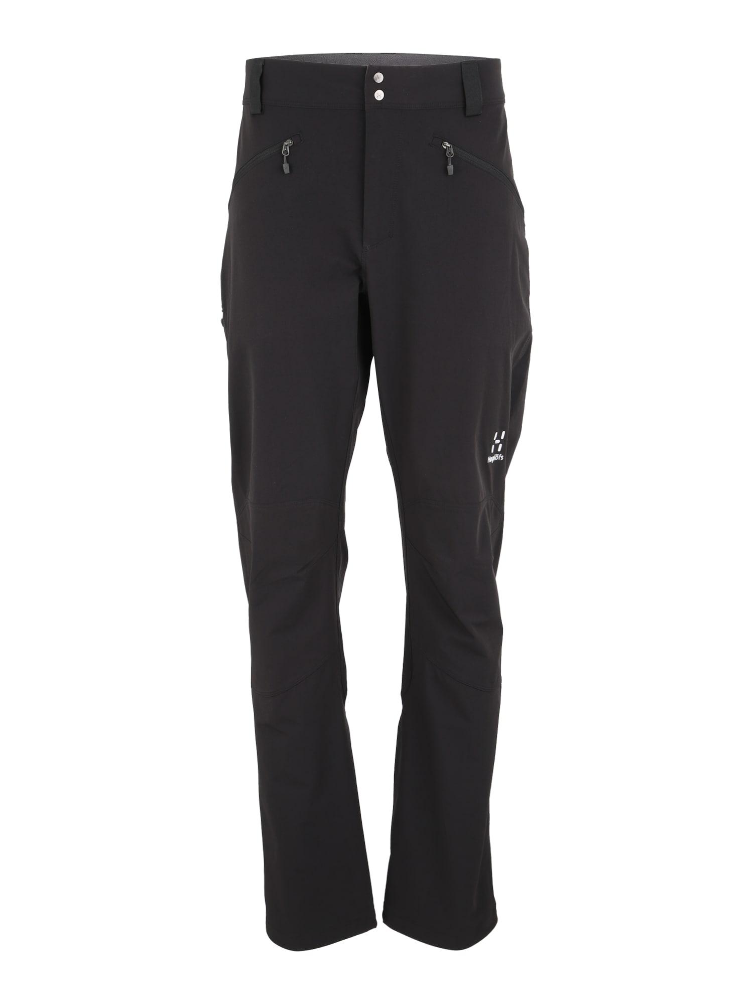 Sportovní kalhoty Morän černá Haglöfs