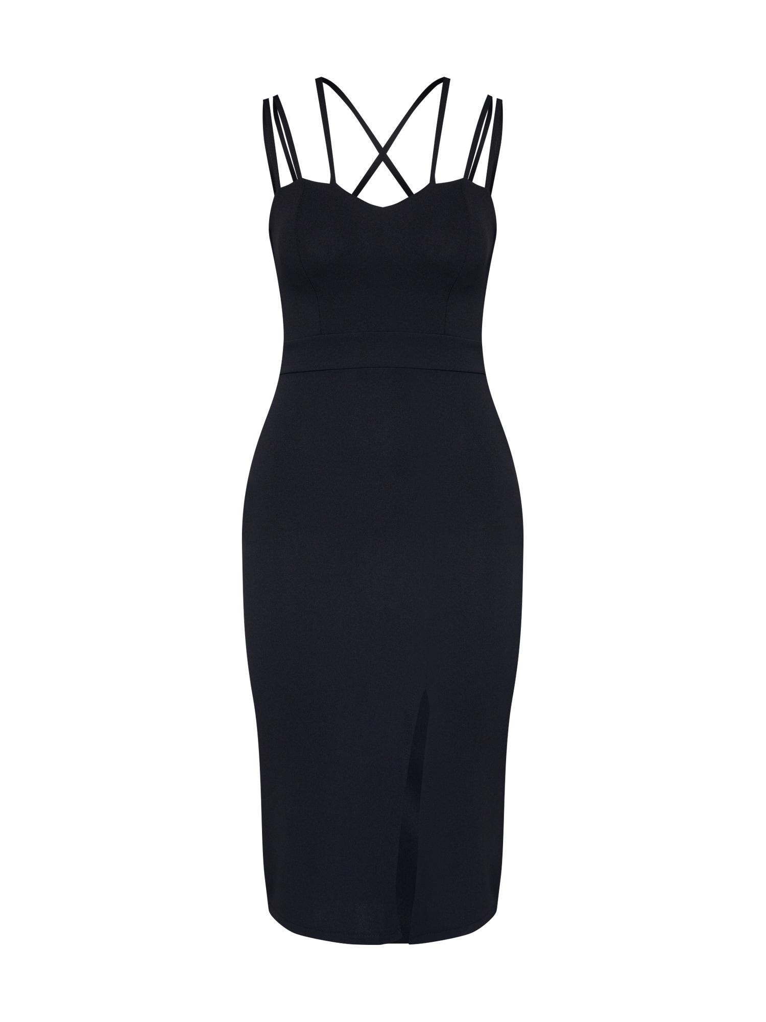Pouzdrové šaty WG 8216 černá WAL G.