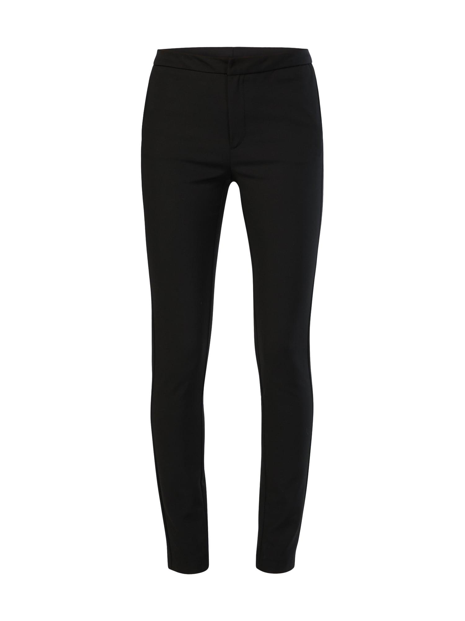 Kalhoty se sklady v pase Christin černá Tiger Of Sweden