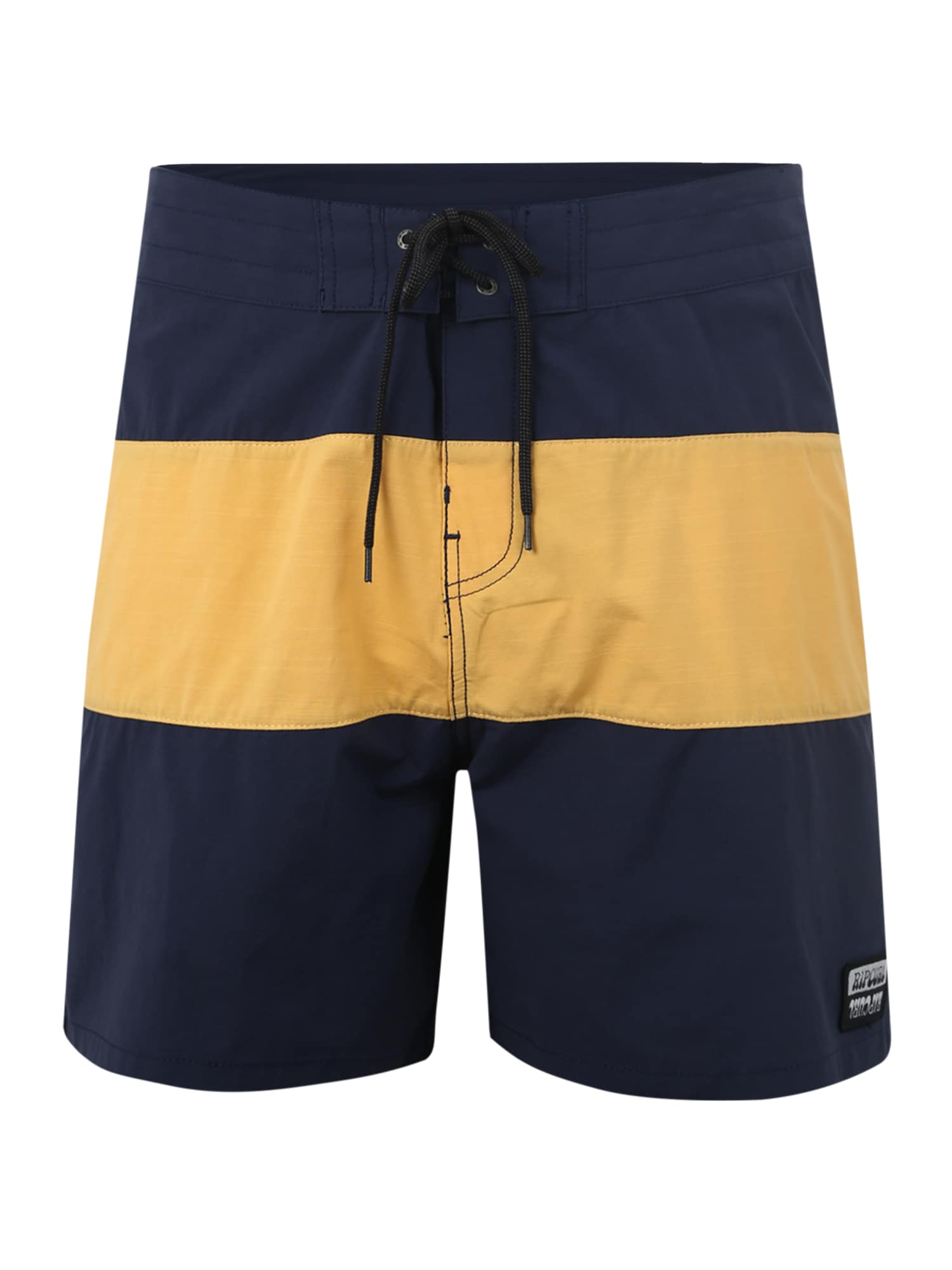 Plavecké šortky RETRO PANELED 17 modrá zlatě žlutá RIP CURL