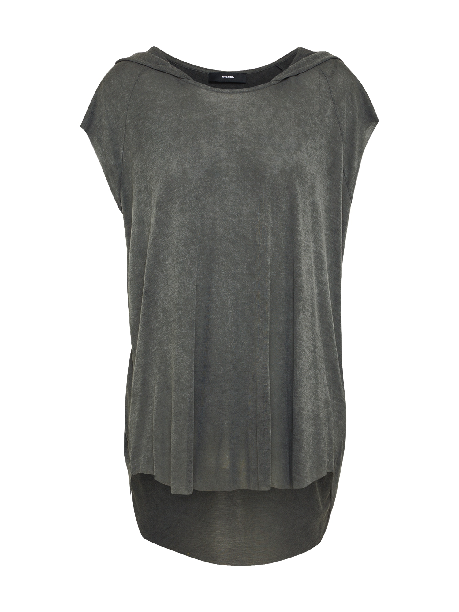 DIESEL Dames Shirt T-DROP-A donkergrijs