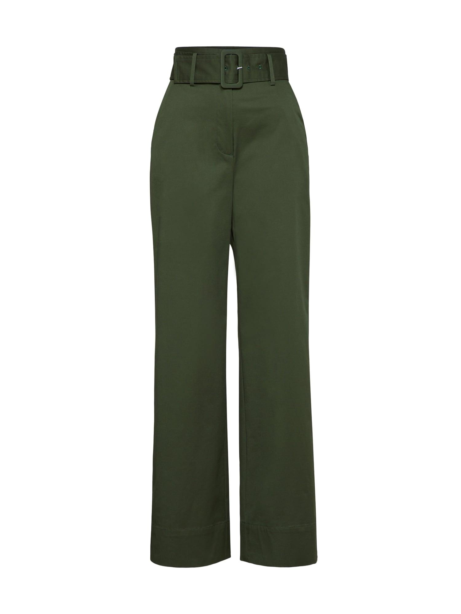 Kalhoty Olena zelená EDITED