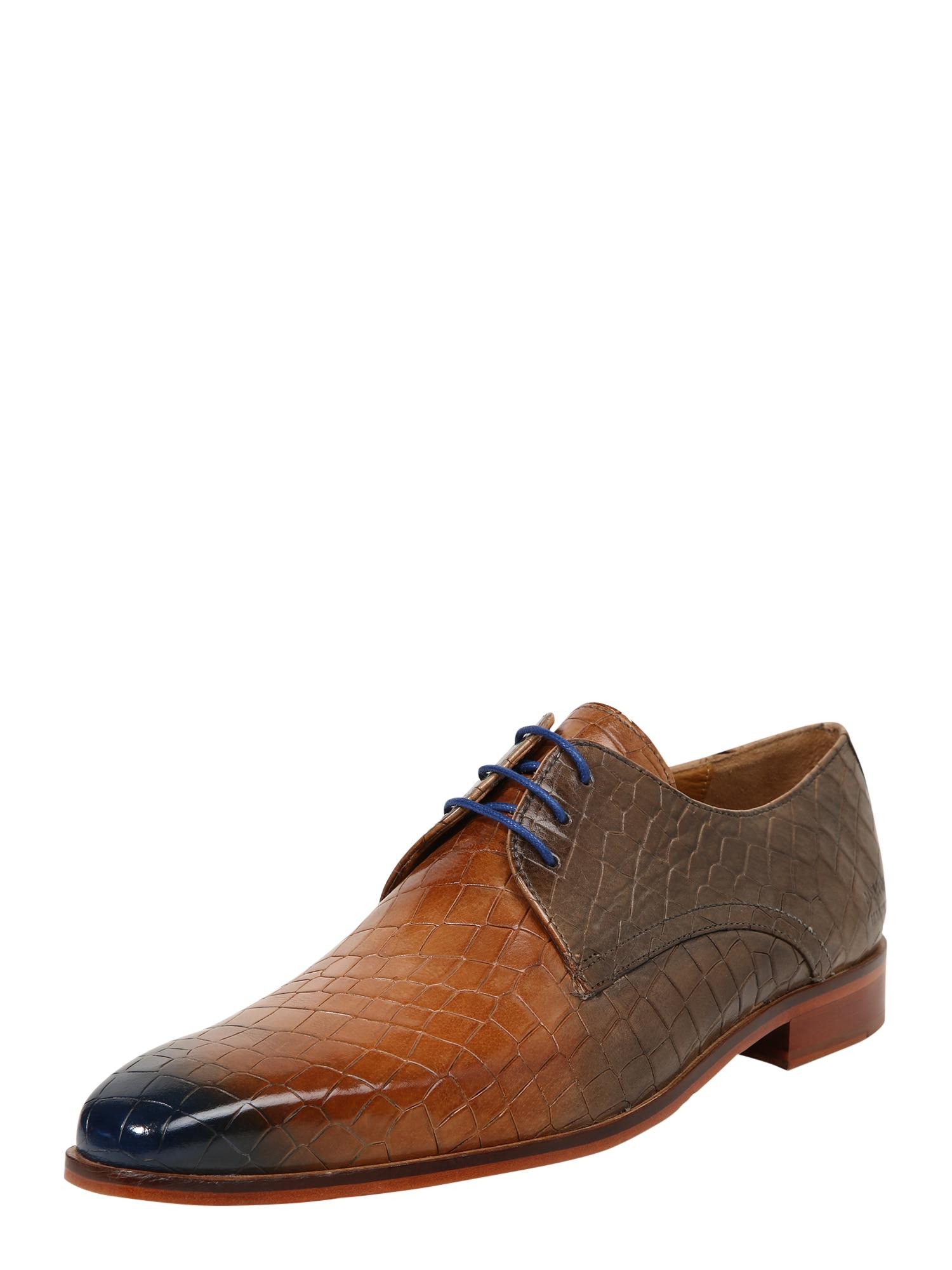 Šněrovací boty Lance 24 hnědá MELVIN & HAMILTON