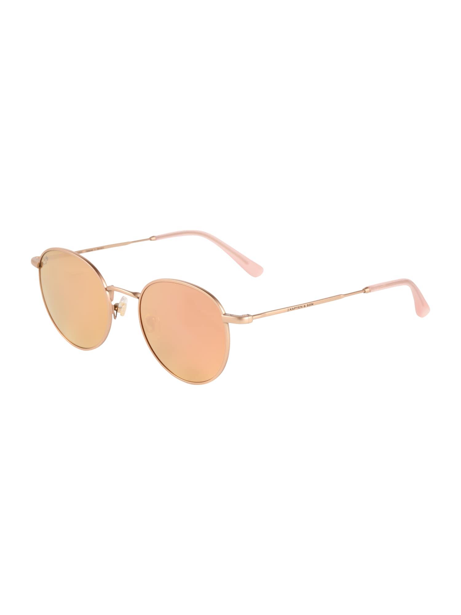 Sluneční brýle London bronzová růžová Kapten & Son