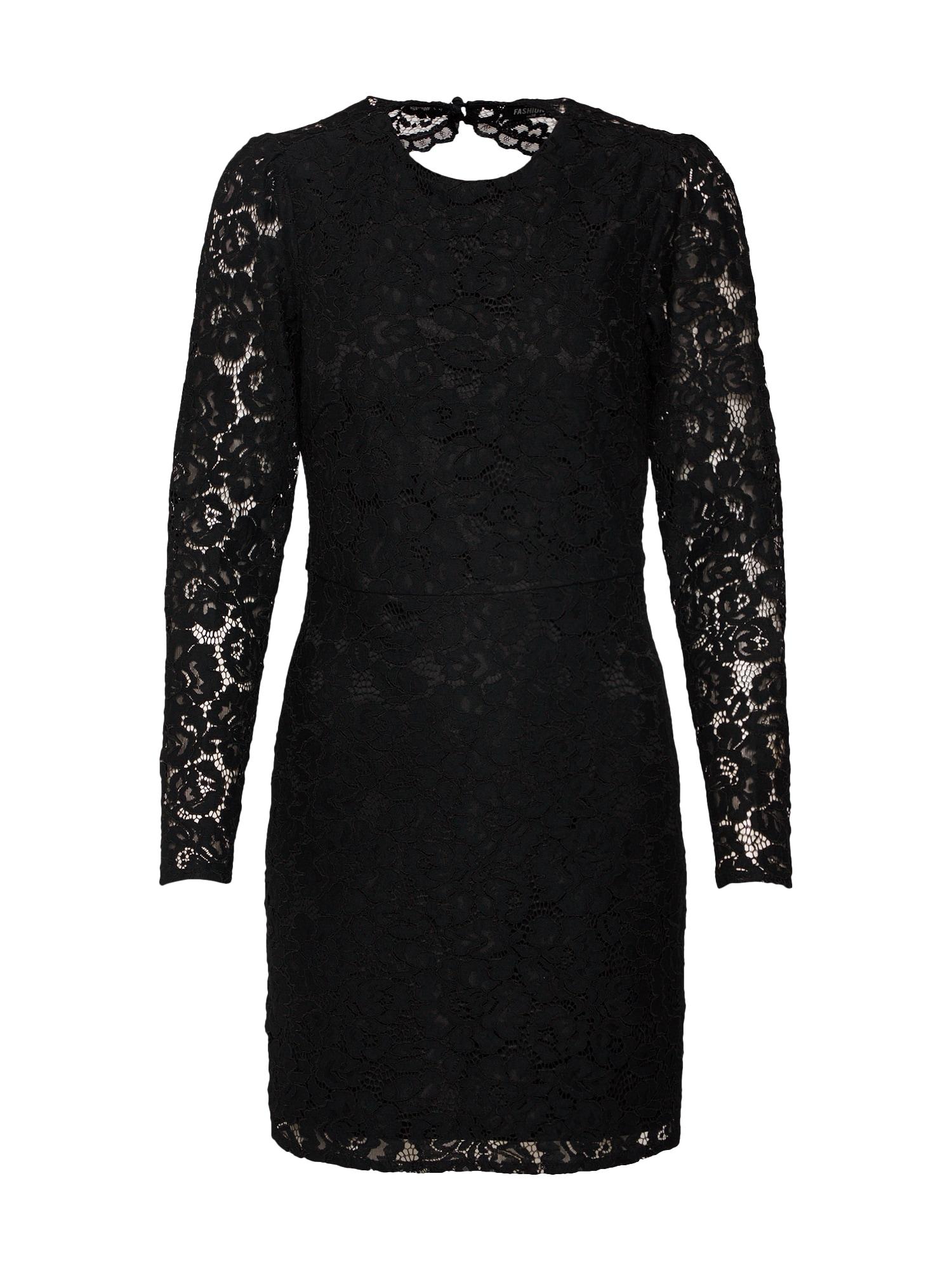 Šaty HARLOTTE černá Fashion Union