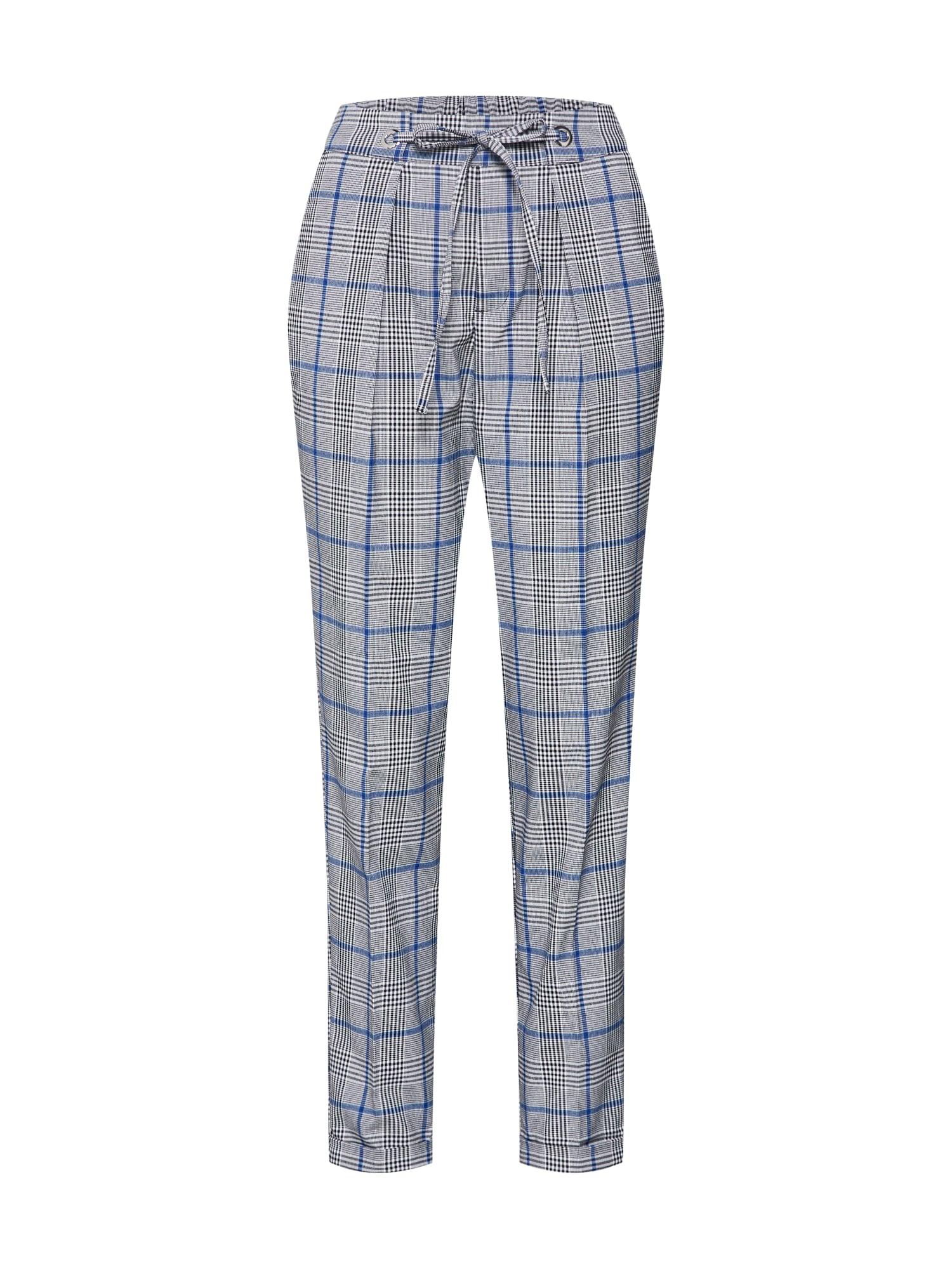 Kalhoty se sklady v pase béžová mix barev TOM TAILOR DENIM