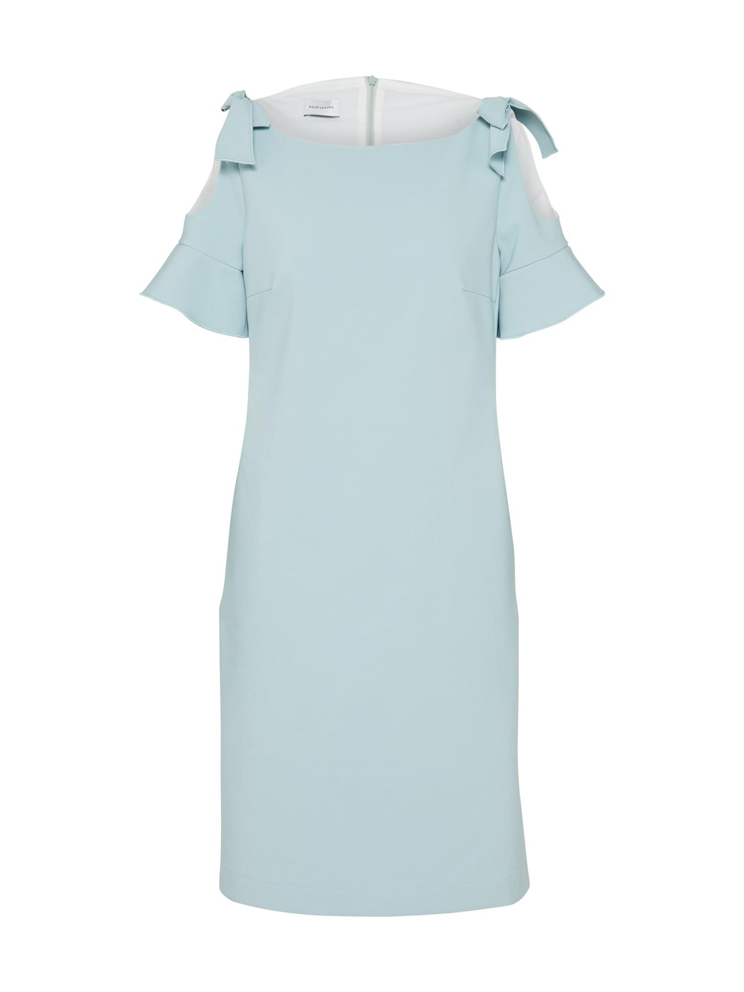 Koktejlové šaty E0S světlemodrá RENÉ LEZARD