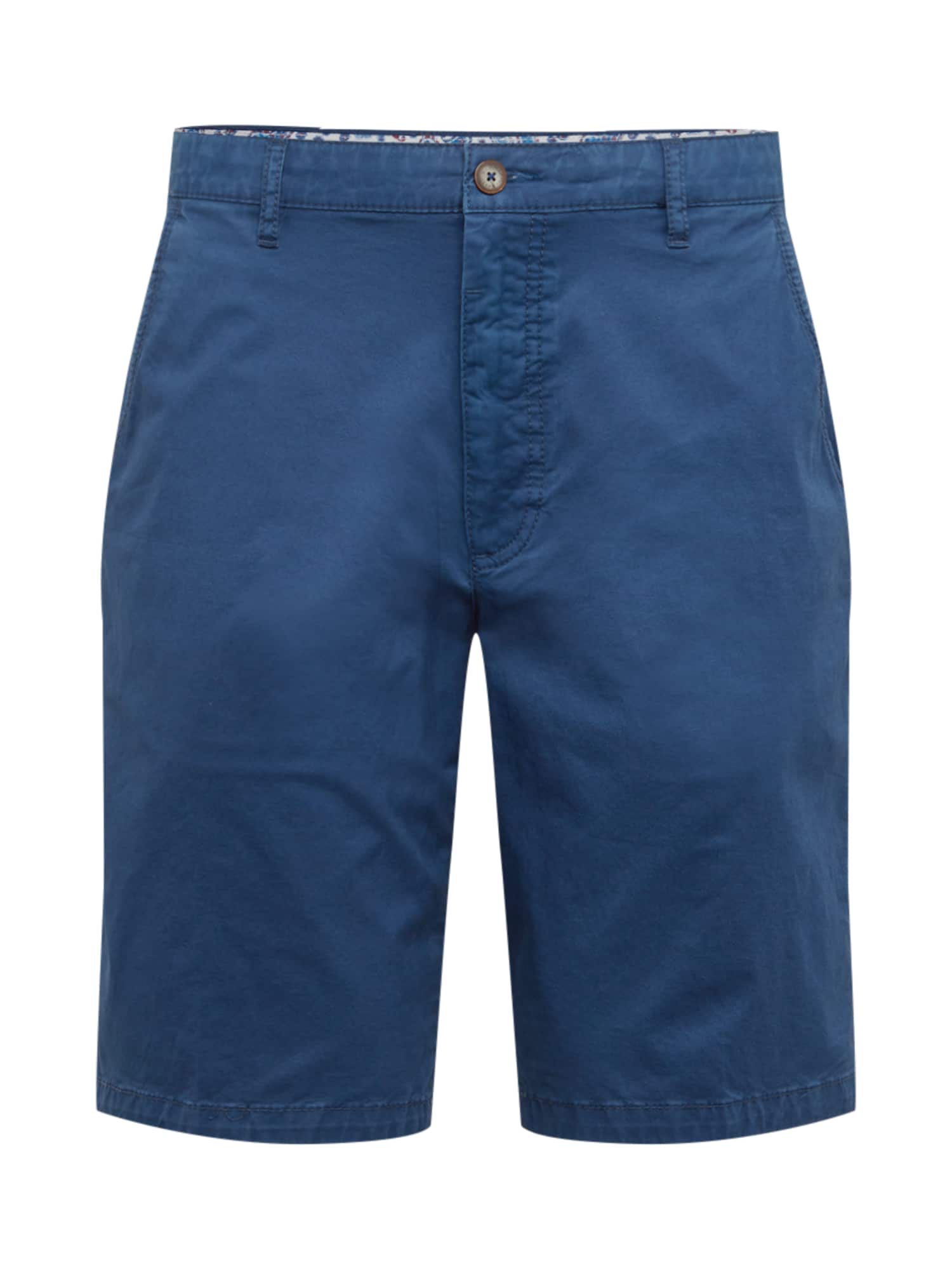 Chino kalhoty 4869 modrá Bugatti