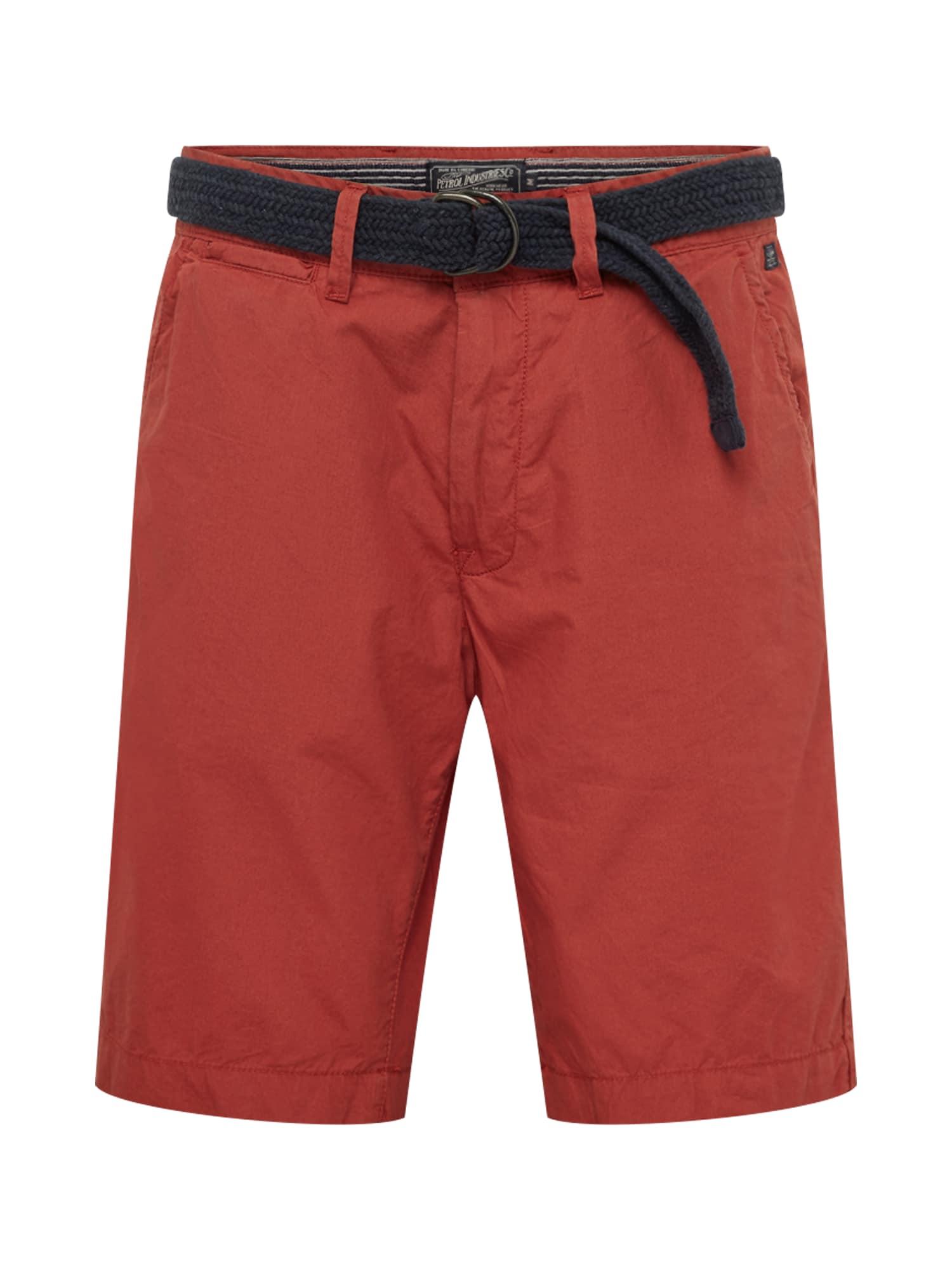 Chino kalhoty světle červená Petrol Industries