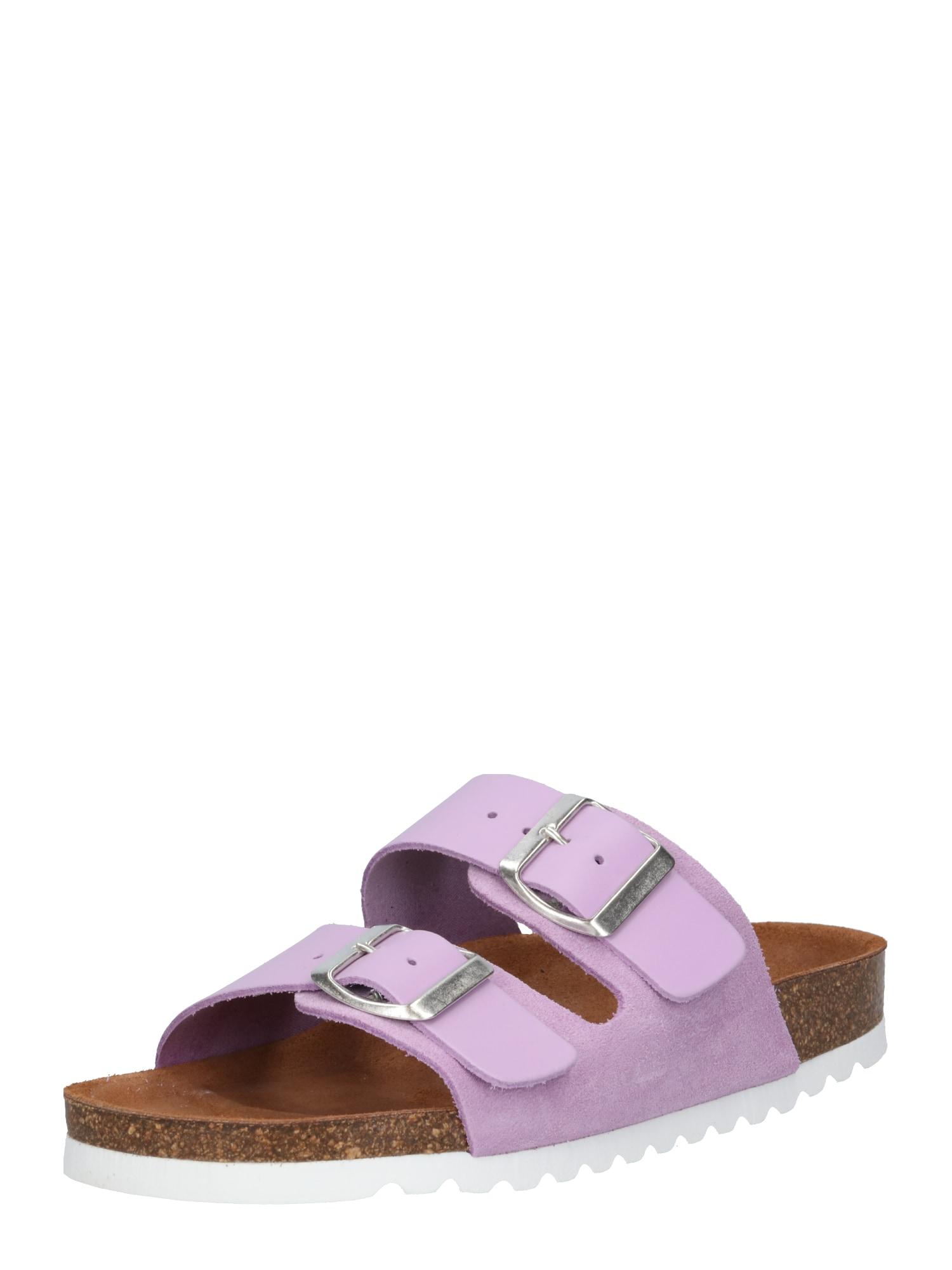 Pantofle CARLA fialová VERO MODA