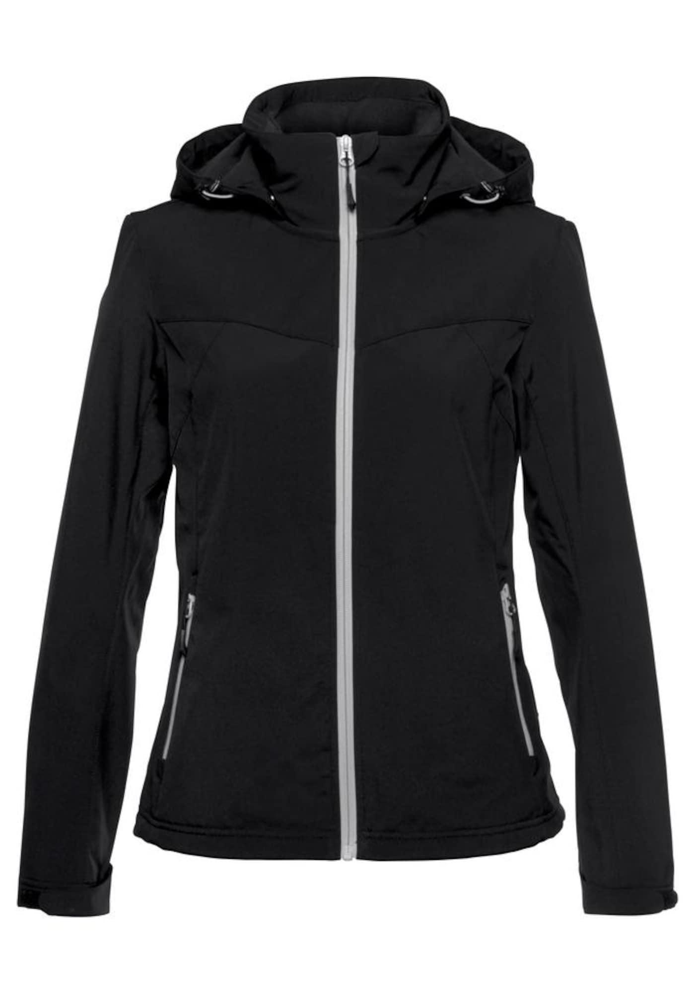 Outdoorová bunda černá bílá ICEPEAK