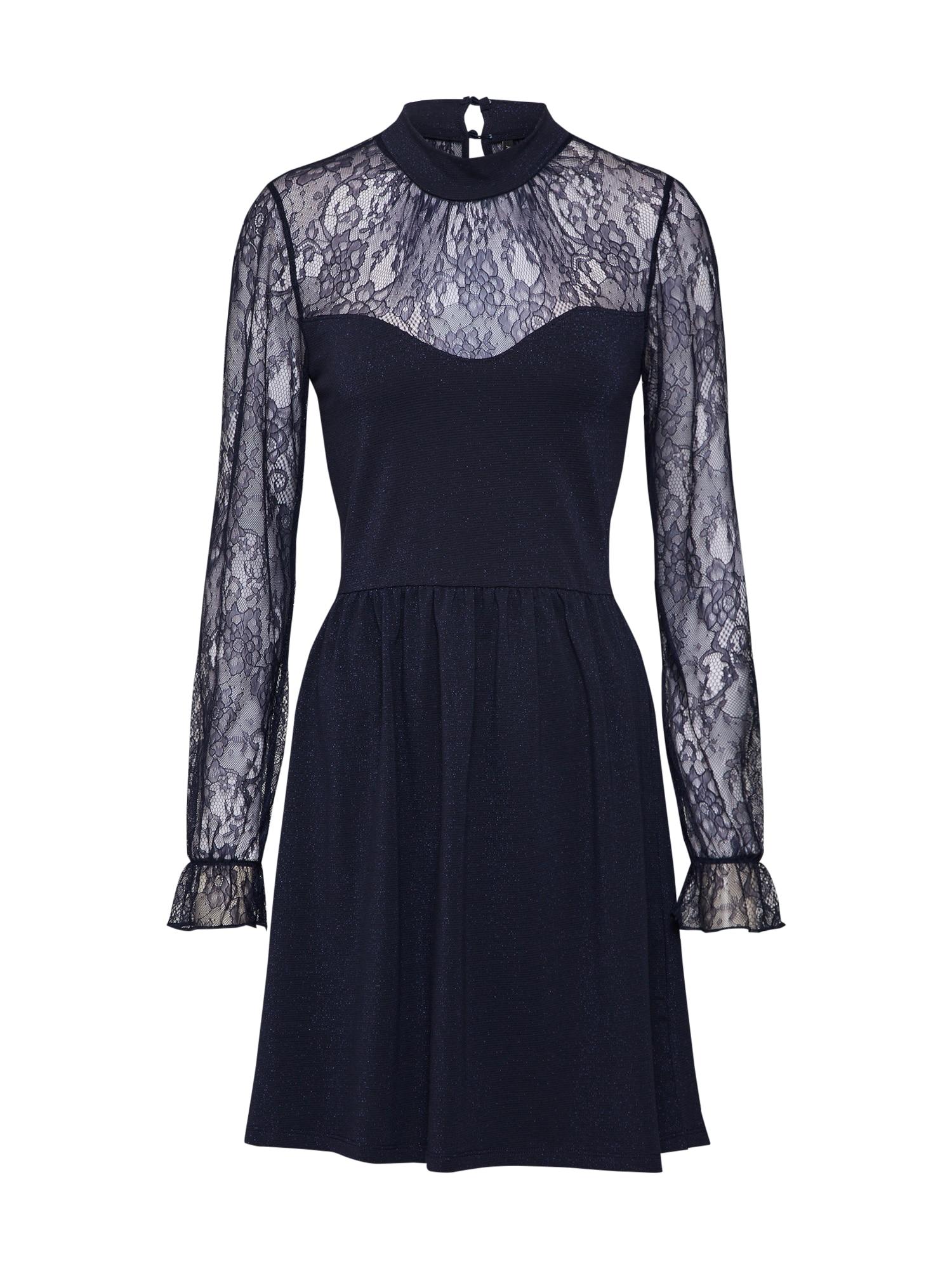 Koktejlové šaty onlLUCCA noční modrá ONLY