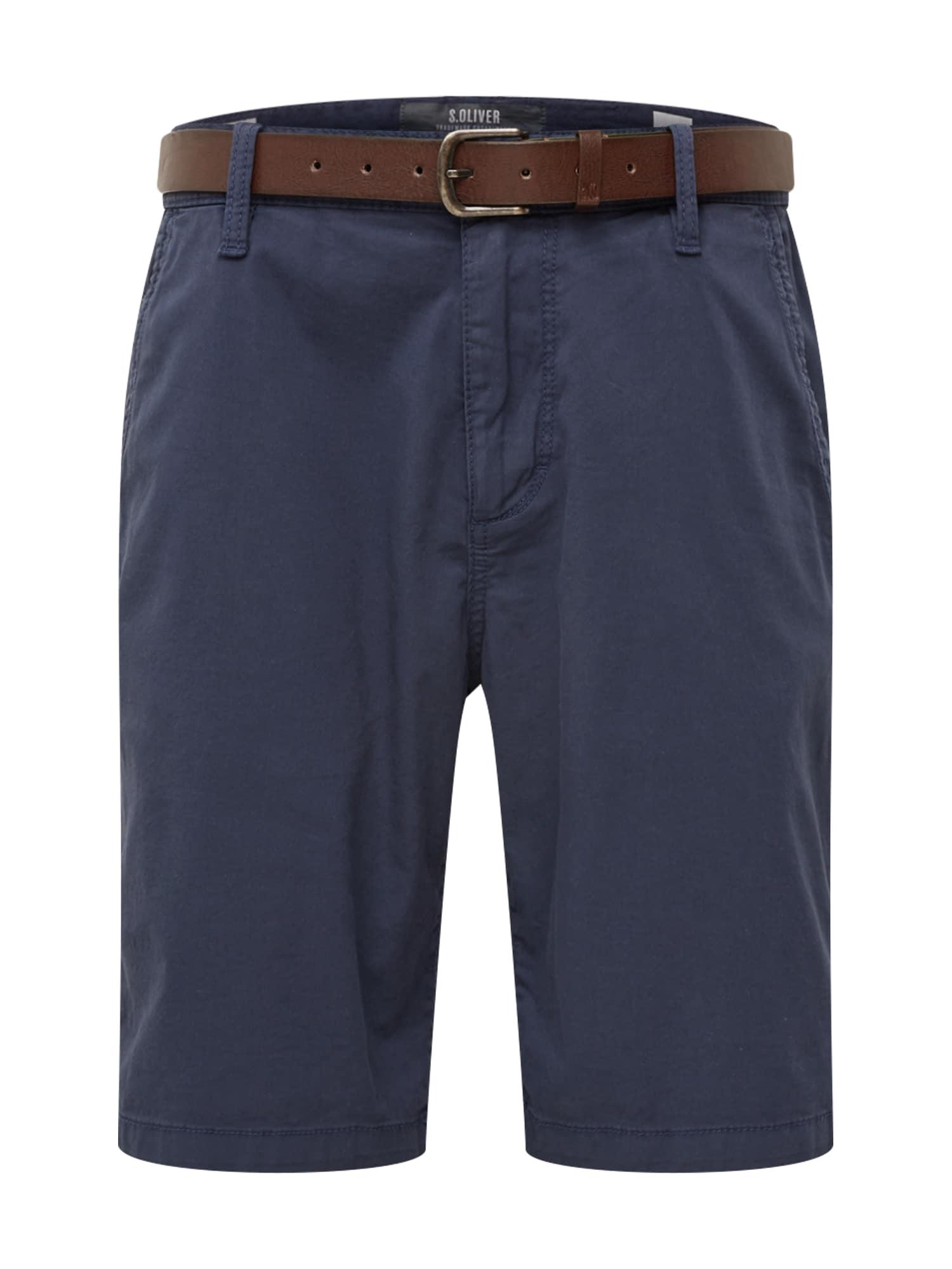 Chino kalhoty tmavě modrá S.Oliver RED LABEL
