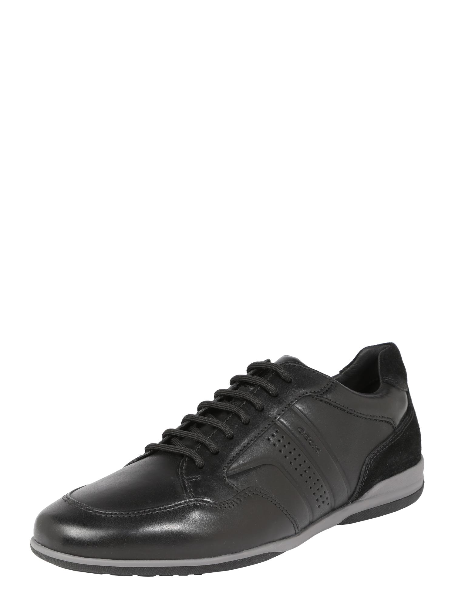 Šněrovací boty TIMOTHY černá GEOX