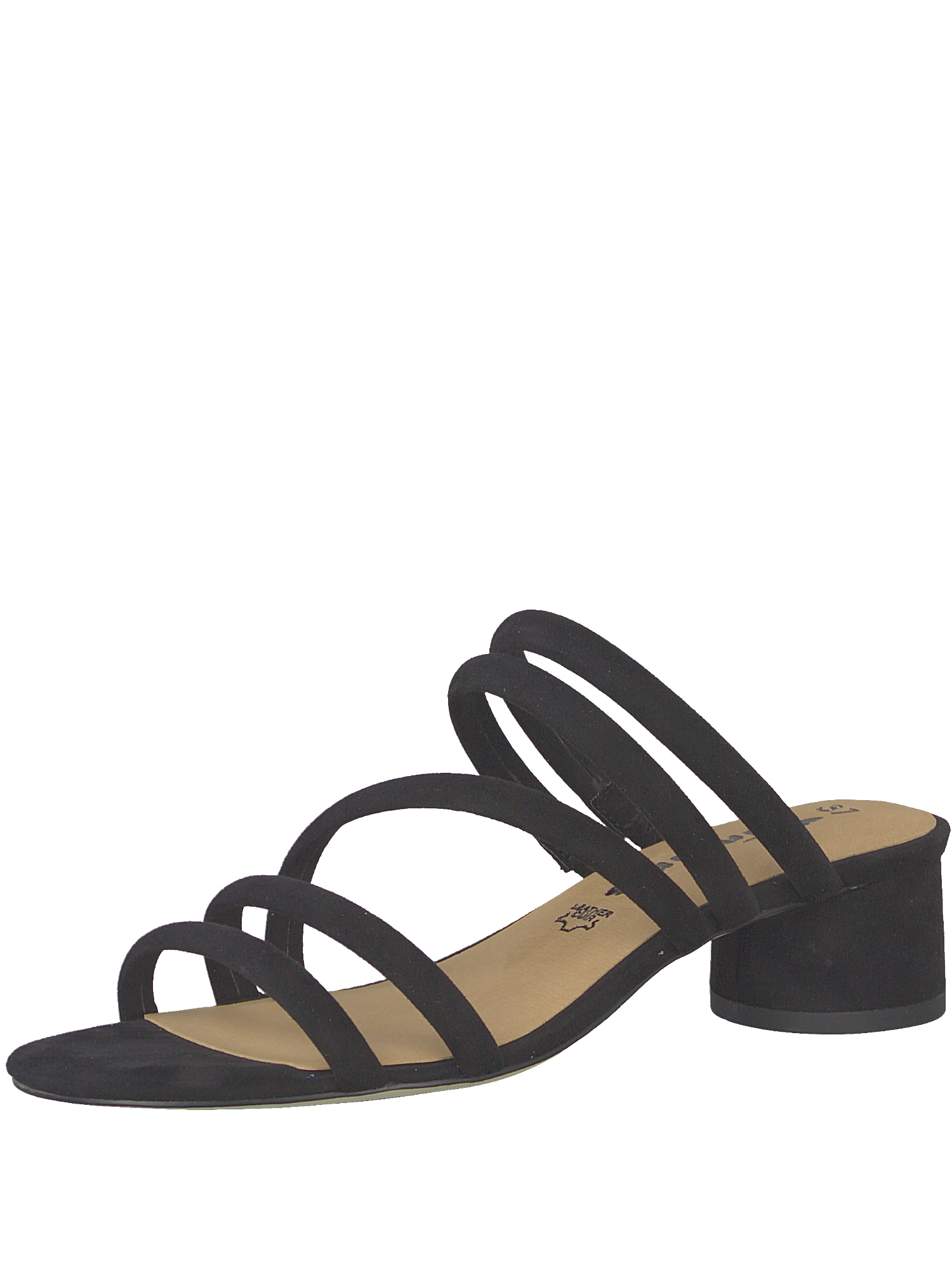 Sandály Strappy Mule černá TAMARIS