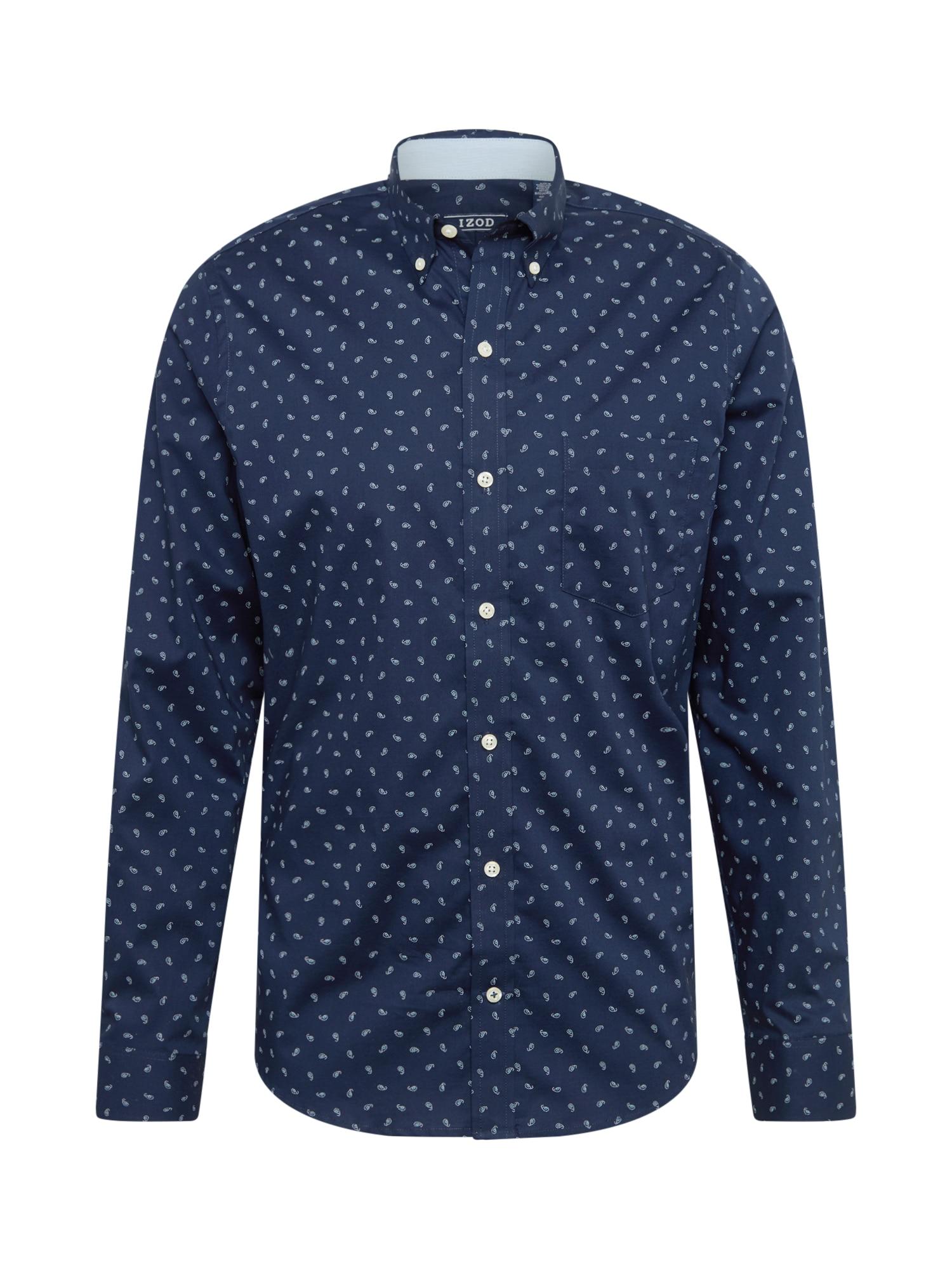 Společenská košile tmavě modrá IZOD