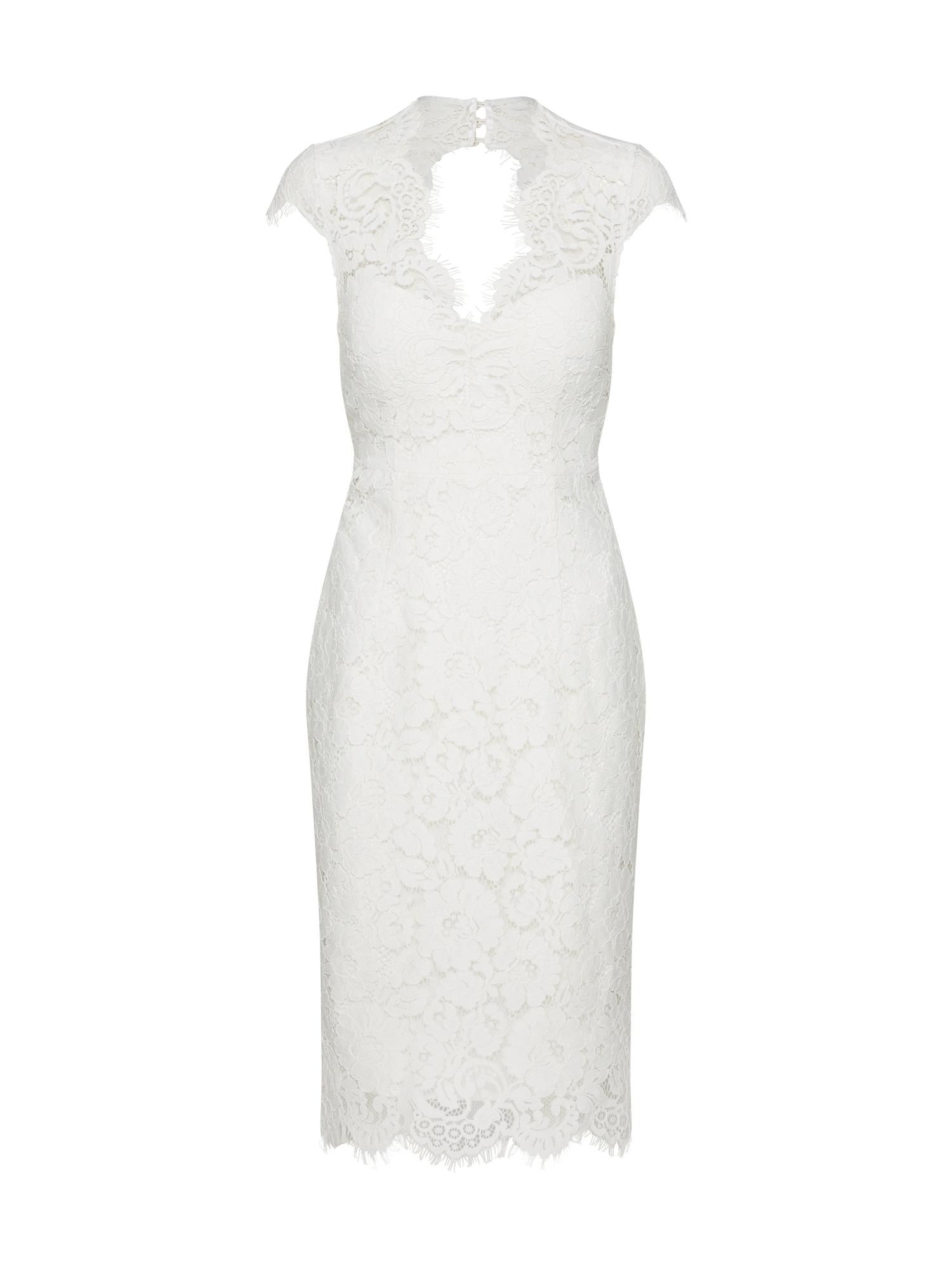 IVY & OAK Sukienka koktajlowa  biały