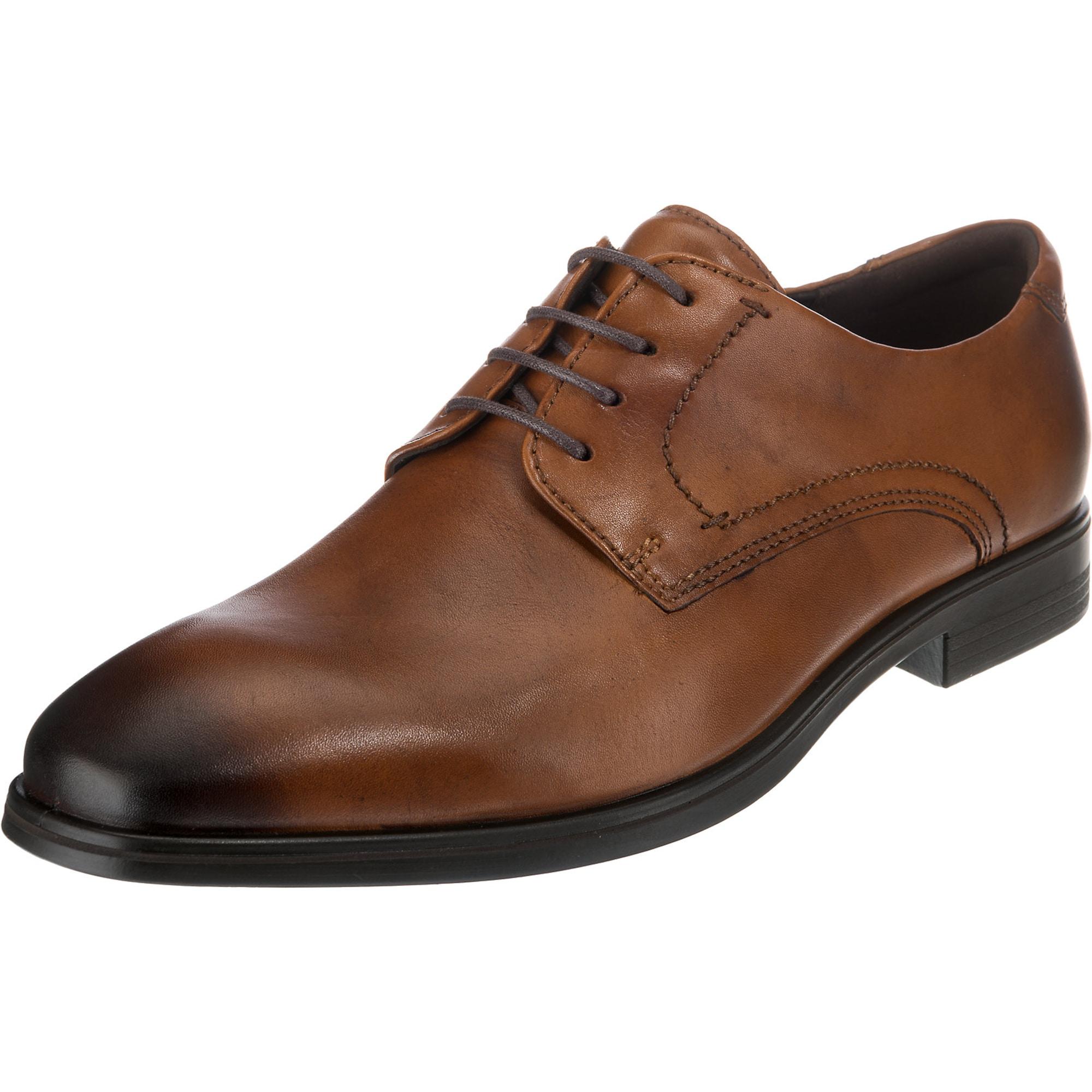 Šněrovací boty Melburne hnědá ECCO