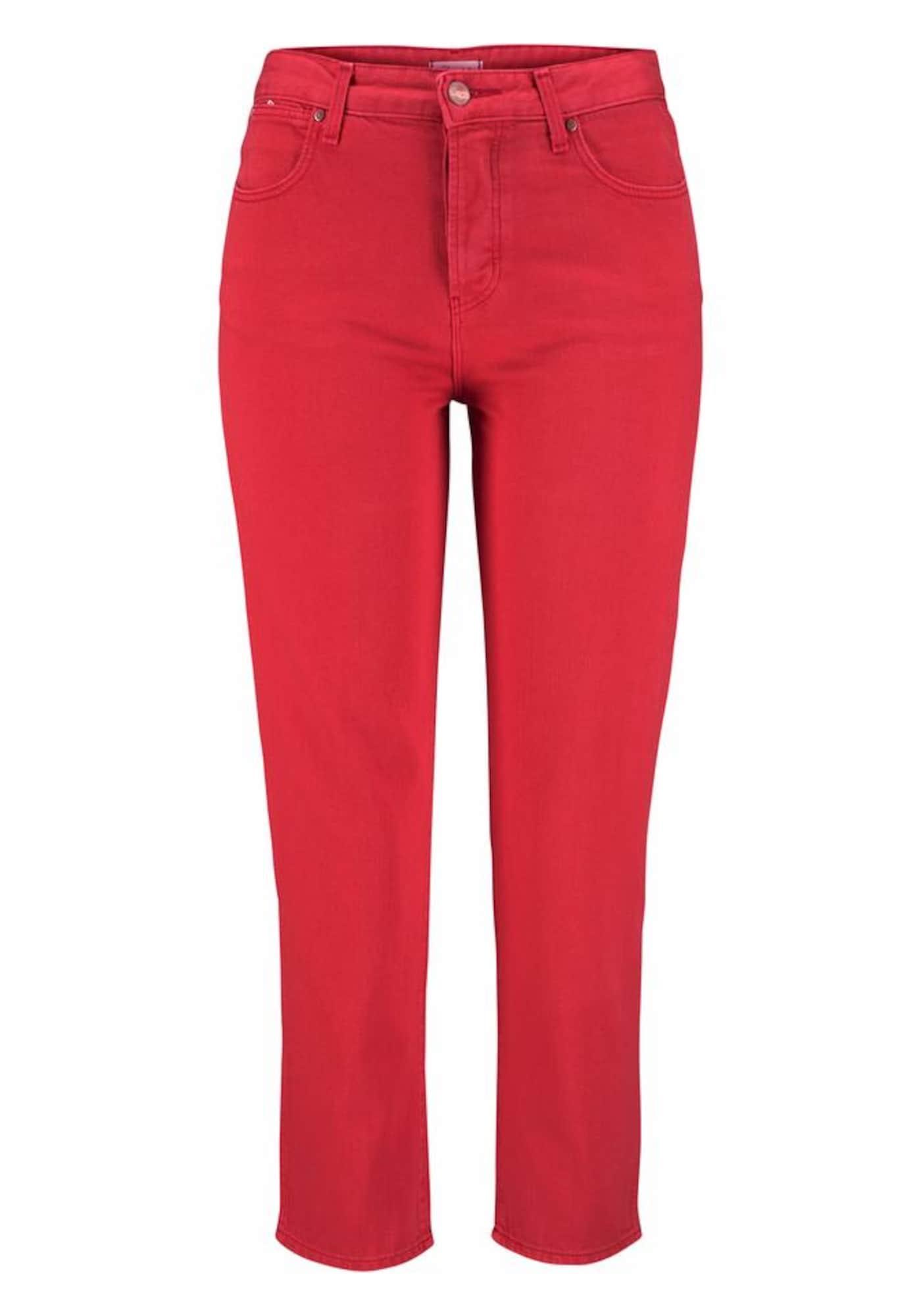 WRANGLER Dames Jeans rood