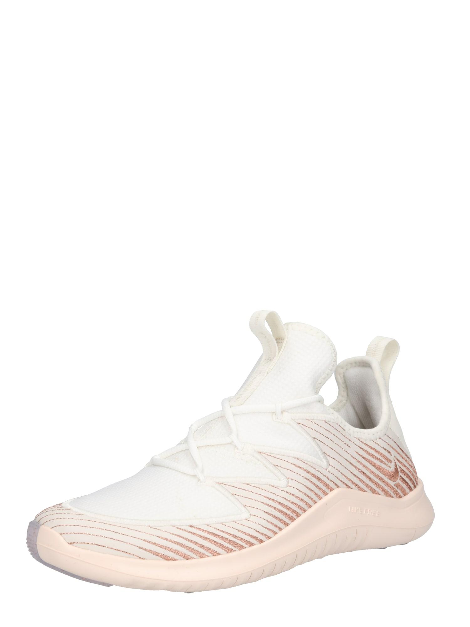 Sportovní boty Nike Free TR 9 Metallic krémová bronzová NIKE