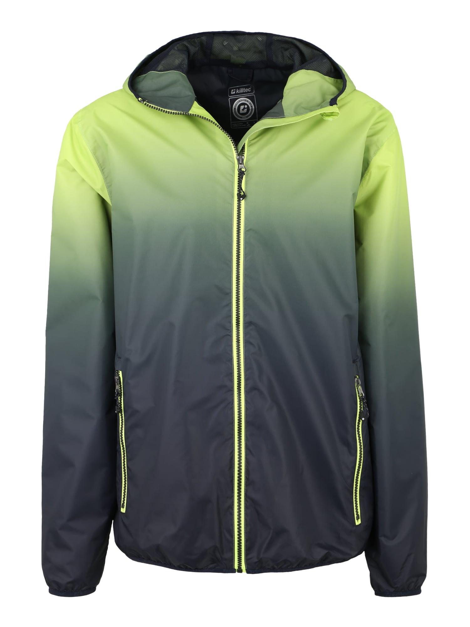 Sportovní bunda Kaliqo modrá světle zelená KILLTEC