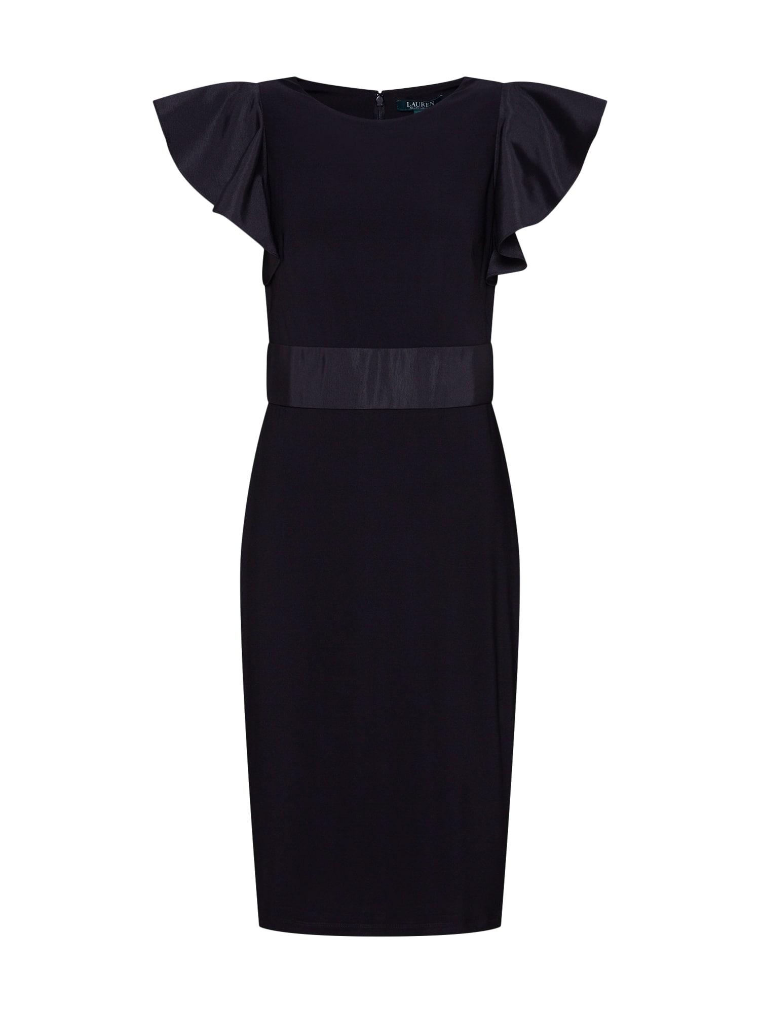 Pouzdrové šaty ZEPHIO černá Lauren Ralph Lauren