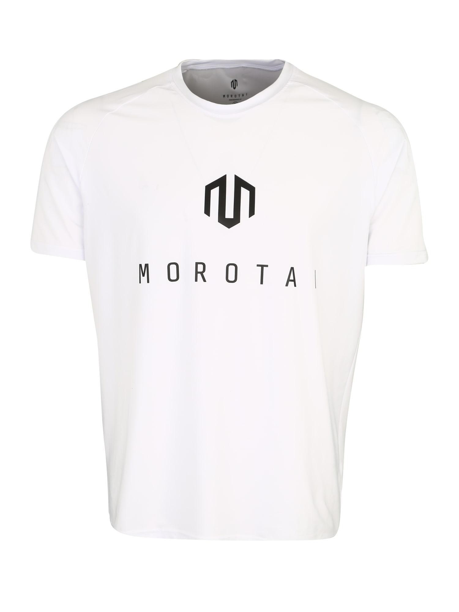 Funkční tričko NKMR Performance Basic černá bílá MOROTAI
